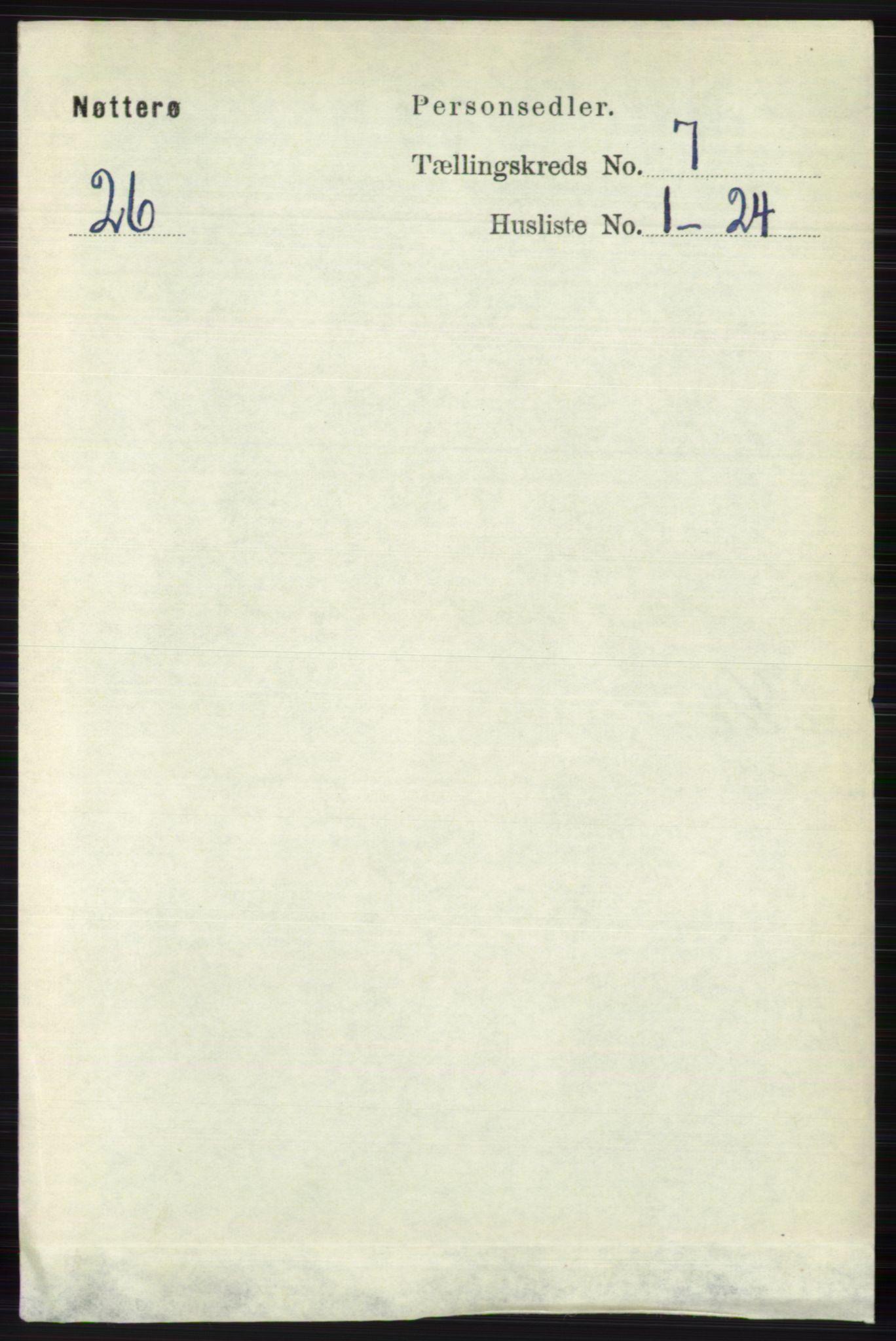 RA, Folketelling 1891 for 0722 Nøtterøy herred, 1891, s. 3471