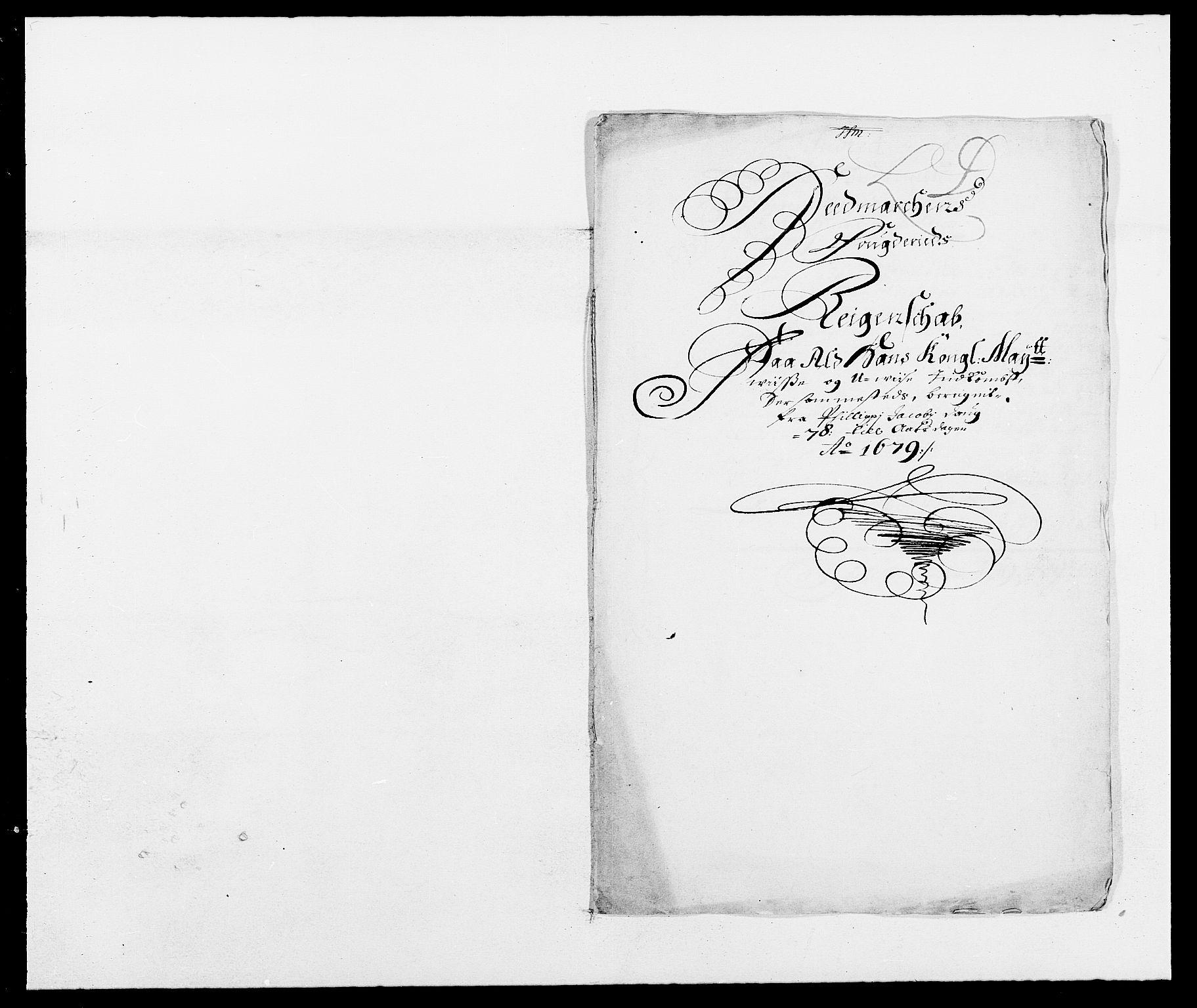 RA, Rentekammeret inntil 1814, Reviderte regnskaper, Fogderegnskap, R16/L1017: Fogderegnskap Hedmark, 1678-1679, s. 2