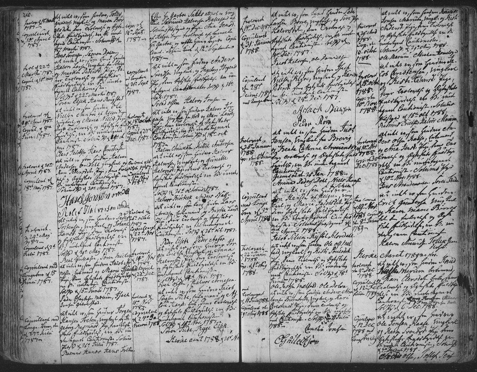 SAKO, Solum kirkebøker, F/Fa/L0003: Ministerialbok nr. I 3, 1761-1814, s. 210-211
