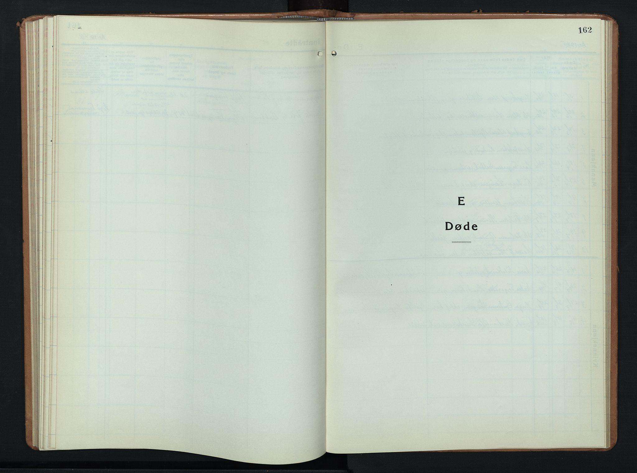 SAH, Ringebu prestekontor, Klokkerbok nr. 12, 1934-1949, s. 162