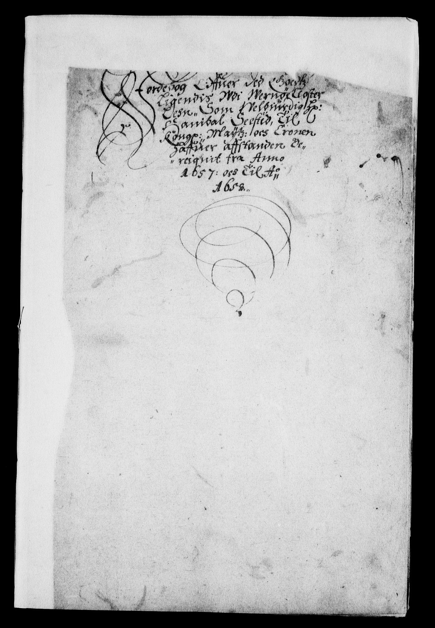 RA, Rentekammeret inntil 1814, Realistisk ordnet avdeling, On/L0007: [Jj 8]: Jordebøker og dokumenter innlevert til kongelig kommisjon 1672: Verne klosters gods, 1658-1672, s. 191