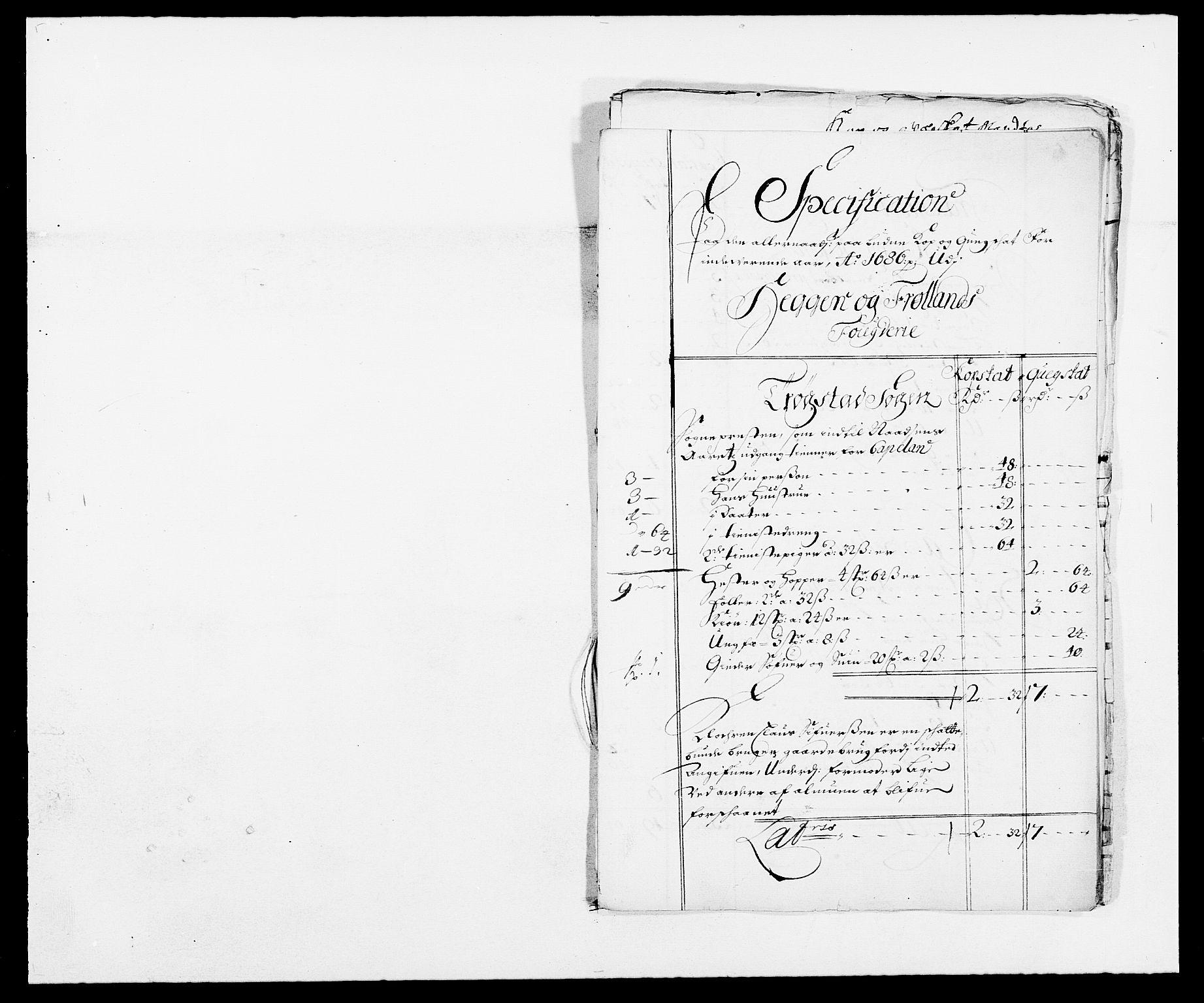 RA, Rentekammeret inntil 1814, Reviderte regnskaper, Fogderegnskap, R06/L0281: Fogderegnskap Heggen og Frøland, 1678-1686, s. 112