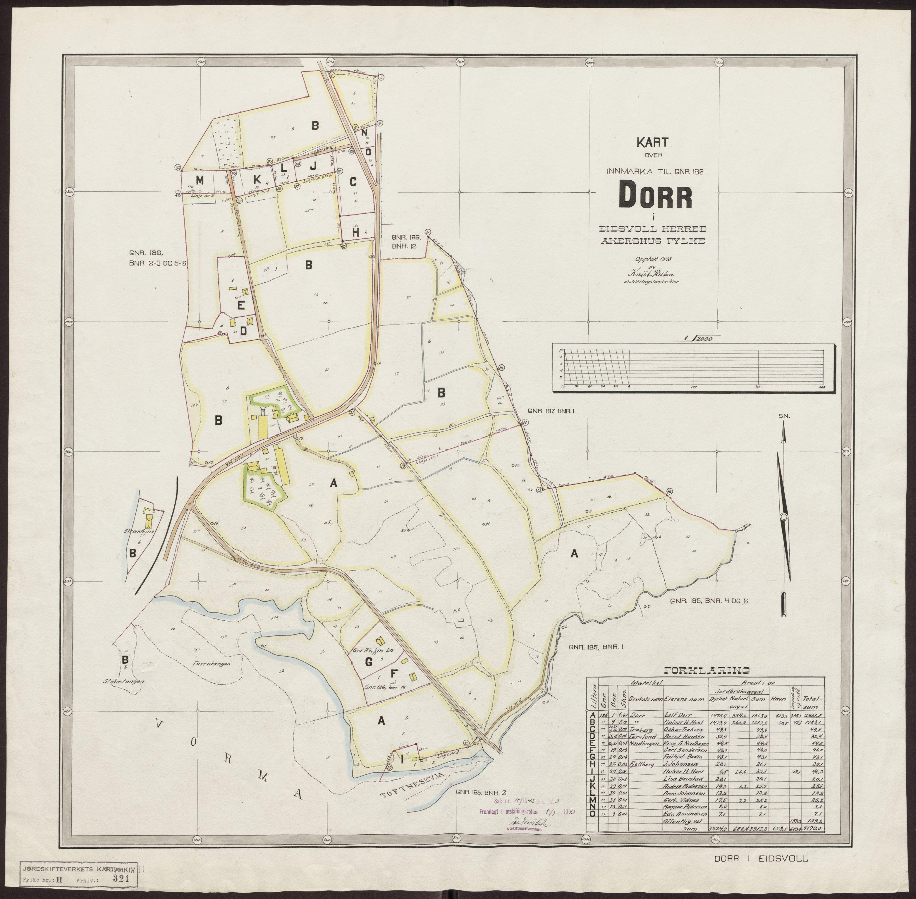 RA, Jordskifteverkets kartarkiv, T, 1859-1988
