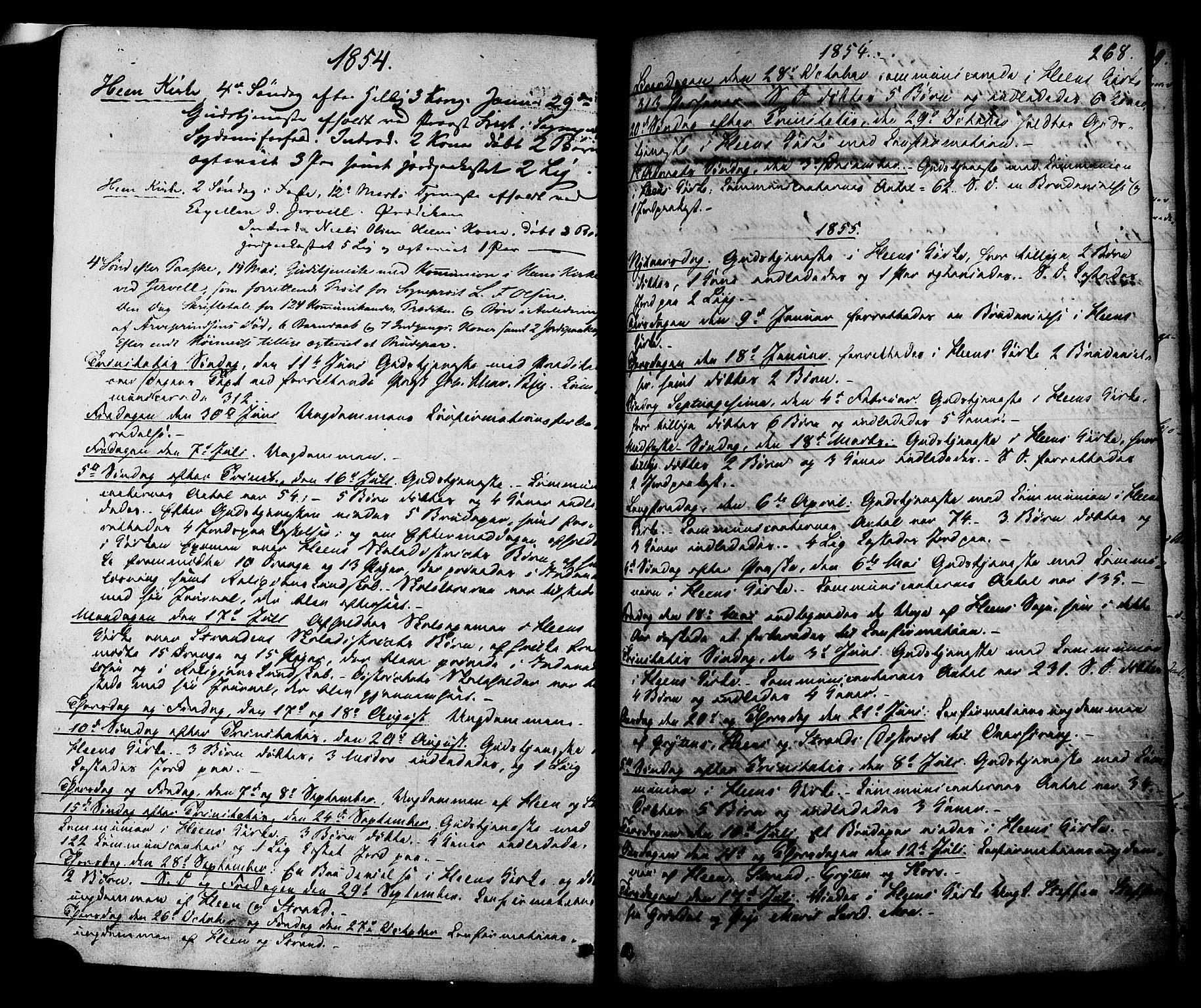 SAT, Ministerialprotokoller, klokkerbøker og fødselsregistre - Møre og Romsdal, 545/L0586: Ministerialbok nr. 545A02, 1854-1877, s. 268
