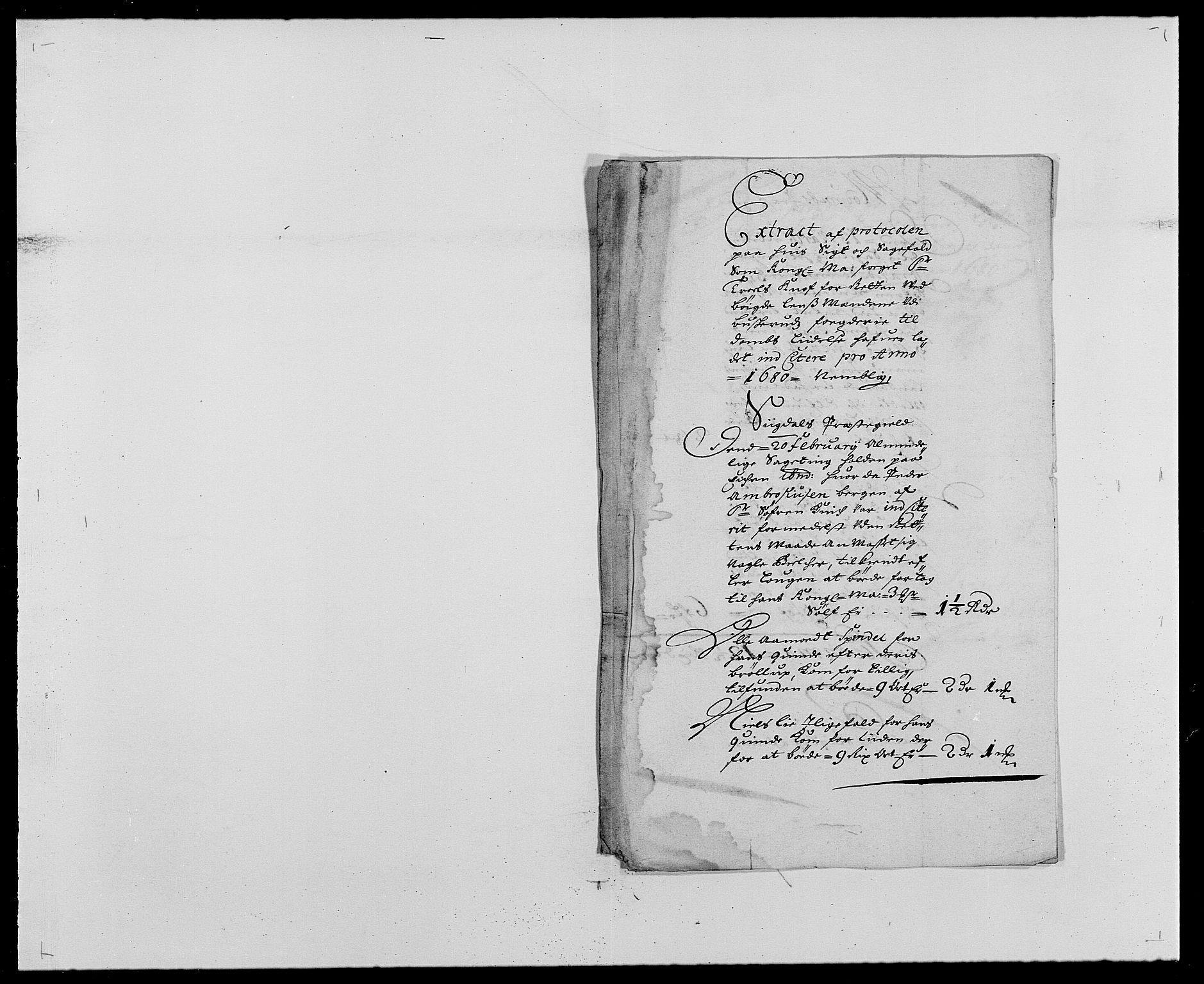RA, Rentekammeret inntil 1814, Reviderte regnskaper, Fogderegnskap, R25/L1675: Fogderegnskap Buskerud, 1678-1681, s. 35