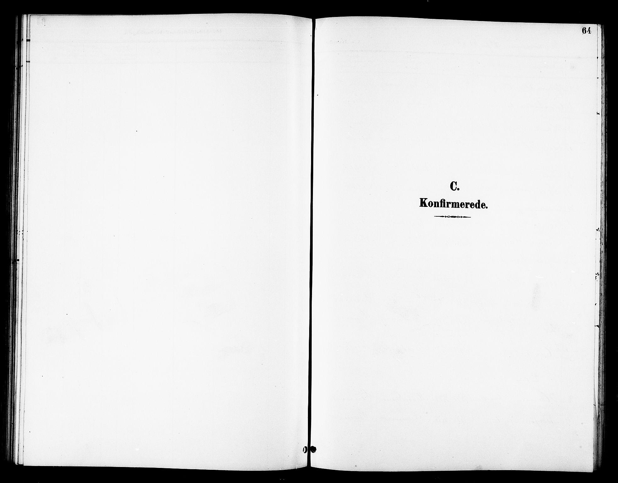 SATØ, Tana sokneprestkontor, H/Hb/L0006klokker: Klokkerbok nr. 6, 1892-1909, s. 64