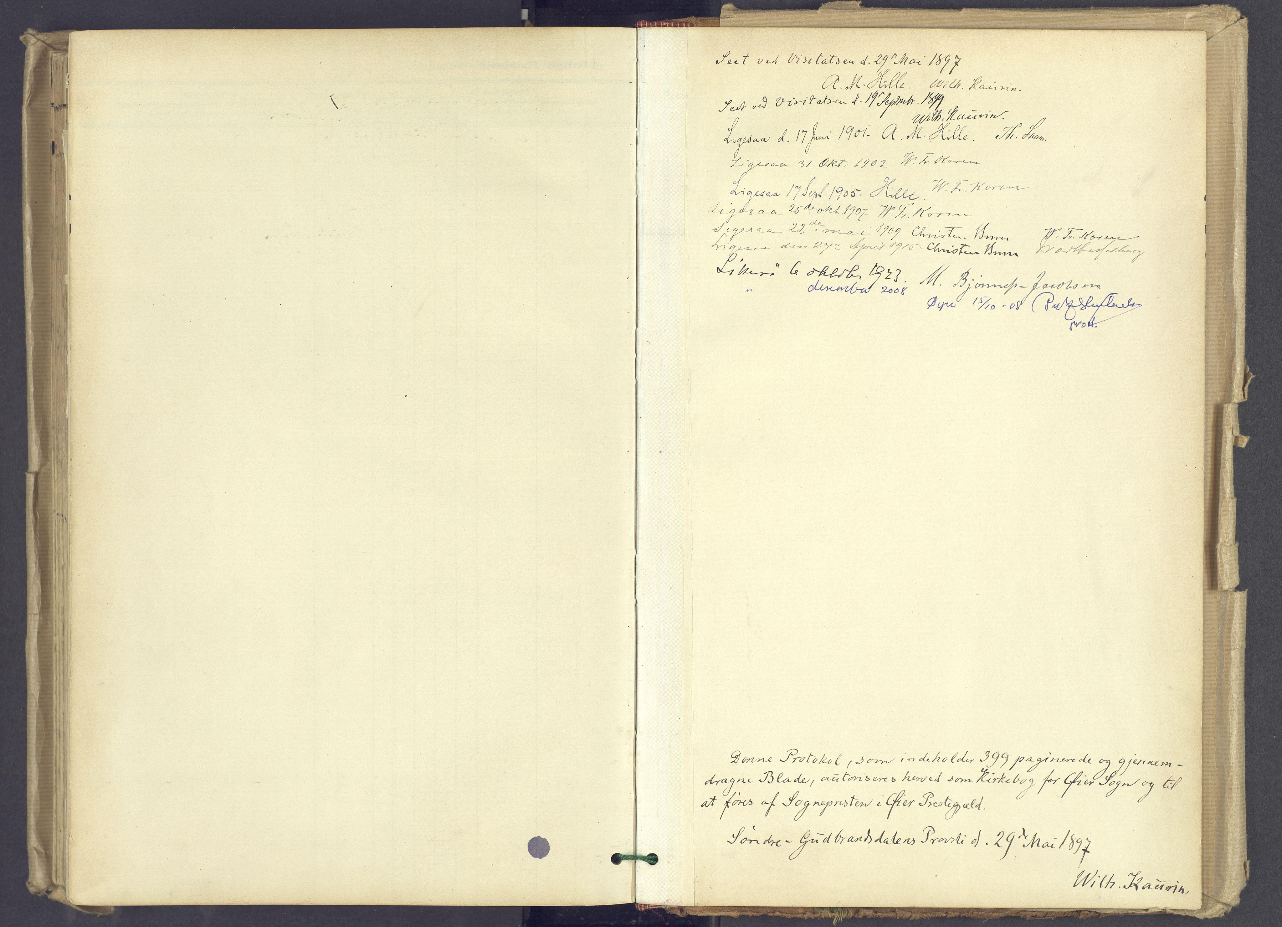 SAH, Øyer prestekontor, Ministerialbok nr. 12, 1897-1920