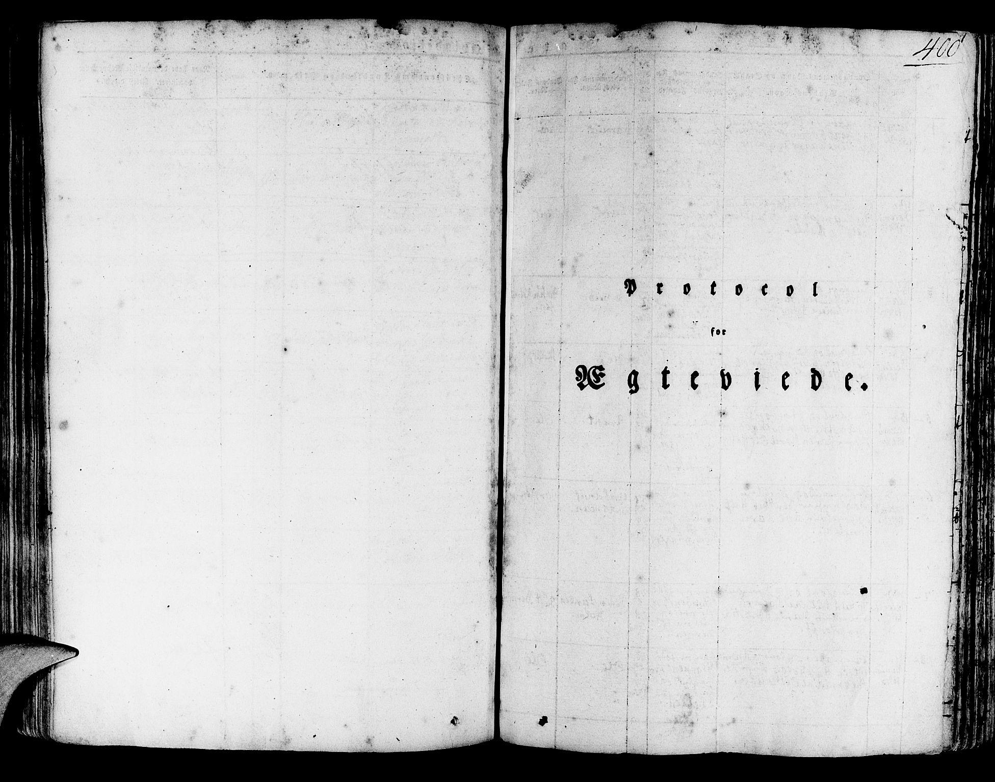 SAB, Korskirken Sokneprestembete, H/Haa/L0014: Ministerialbok nr. A 14, 1823-1835, s. 400