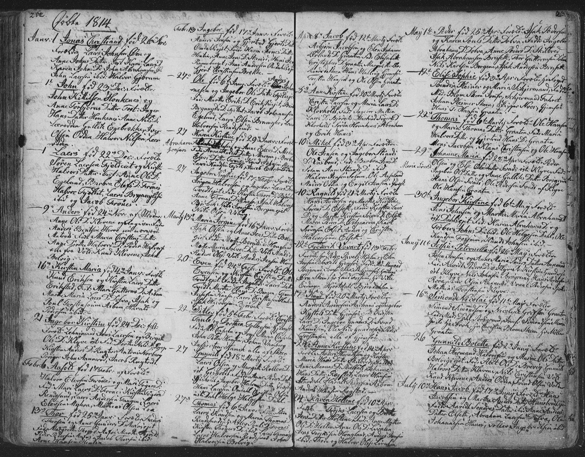 SAKO, Solum kirkebøker, F/Fa/L0003: Ministerialbok nr. I 3, 1761-1814, s. 262-263
