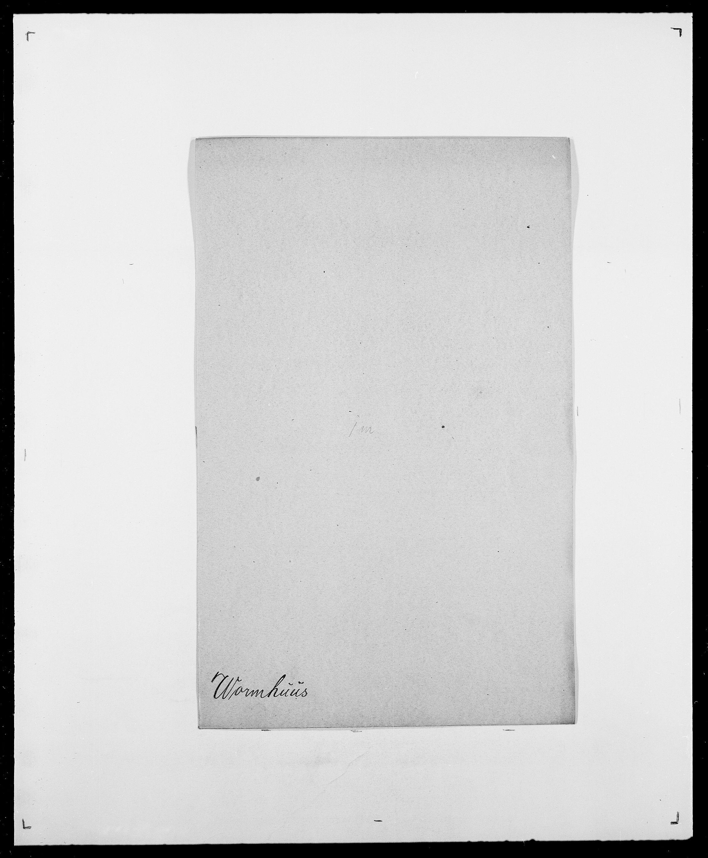 SAO, Delgobe, Charles Antoine - samling, D/Da/L0042: Vilain - Wulf, Wulff, se også Wolf, s. 690