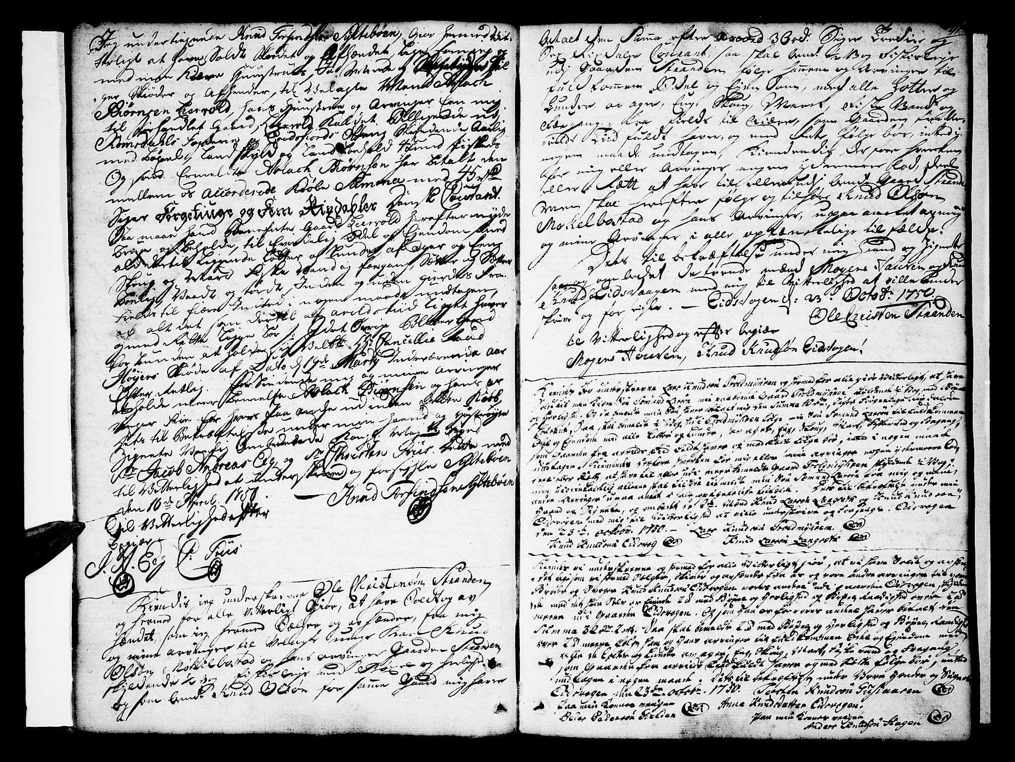 SAT, Romsdal sorenskriveri, 2/2C/L0003: Pantebok nr. 3, 1747-1767, s. 41