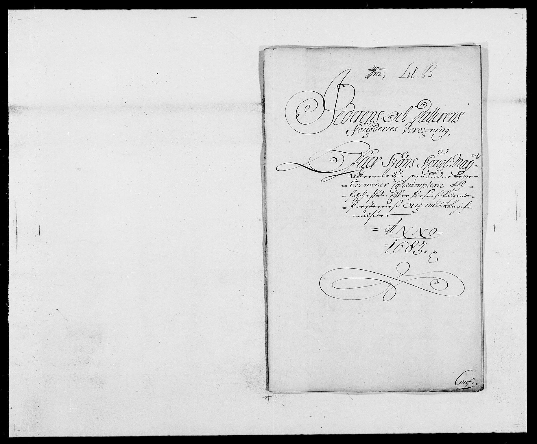 RA, Rentekammeret inntil 1814, Reviderte regnskaper, Fogderegnskap, R46/L2724: Fogderegnskap Jæren og Dalane, 1682-1684, s. 1