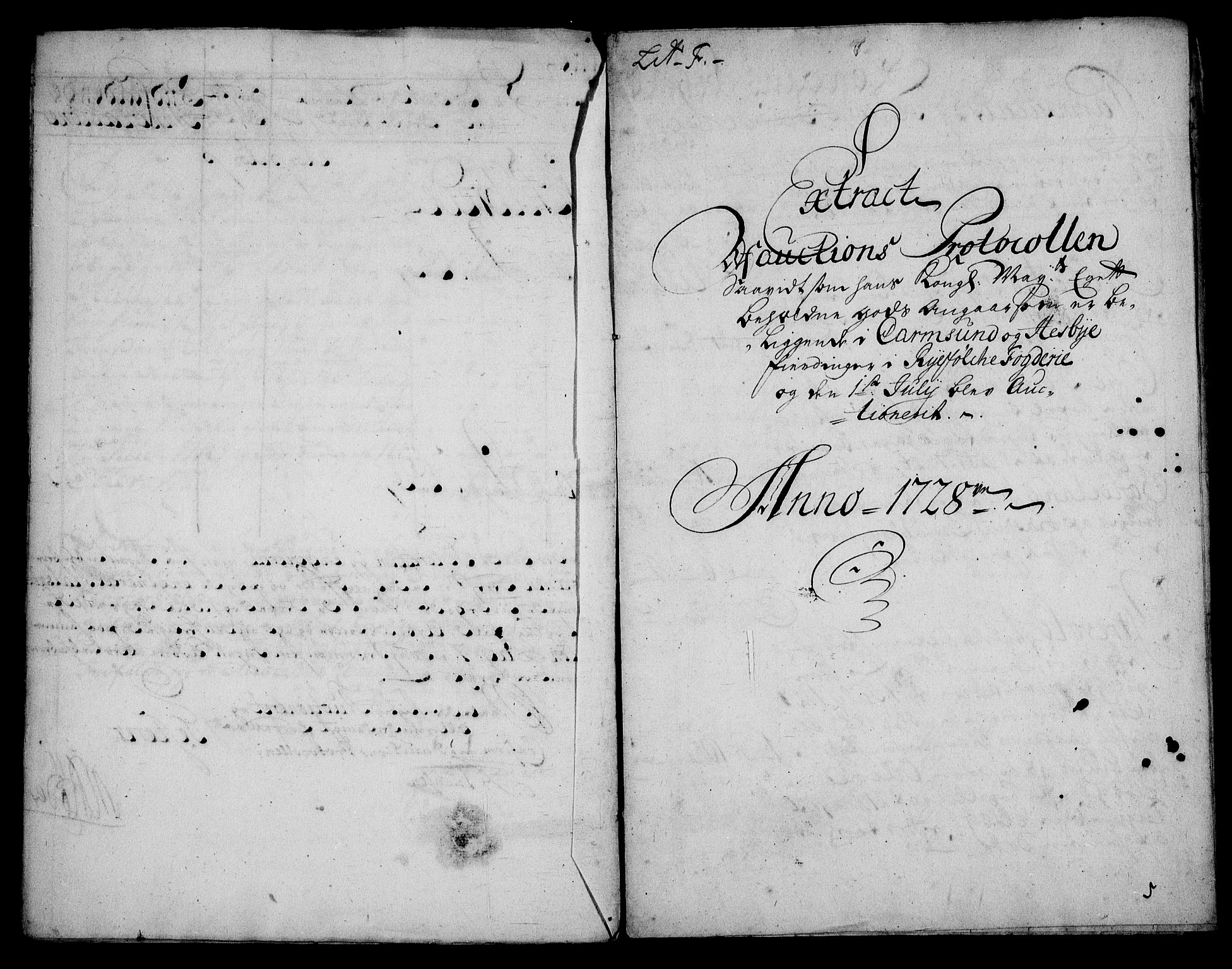 RA, Rentekammeret inntil 1814, Realistisk ordnet avdeling, On/L0003: [Jj 4]: Kommisjonsforretning over Vilhelm Hanssøns forpaktning av Halsnøy klosters gods, 1721-1729, s. 323
