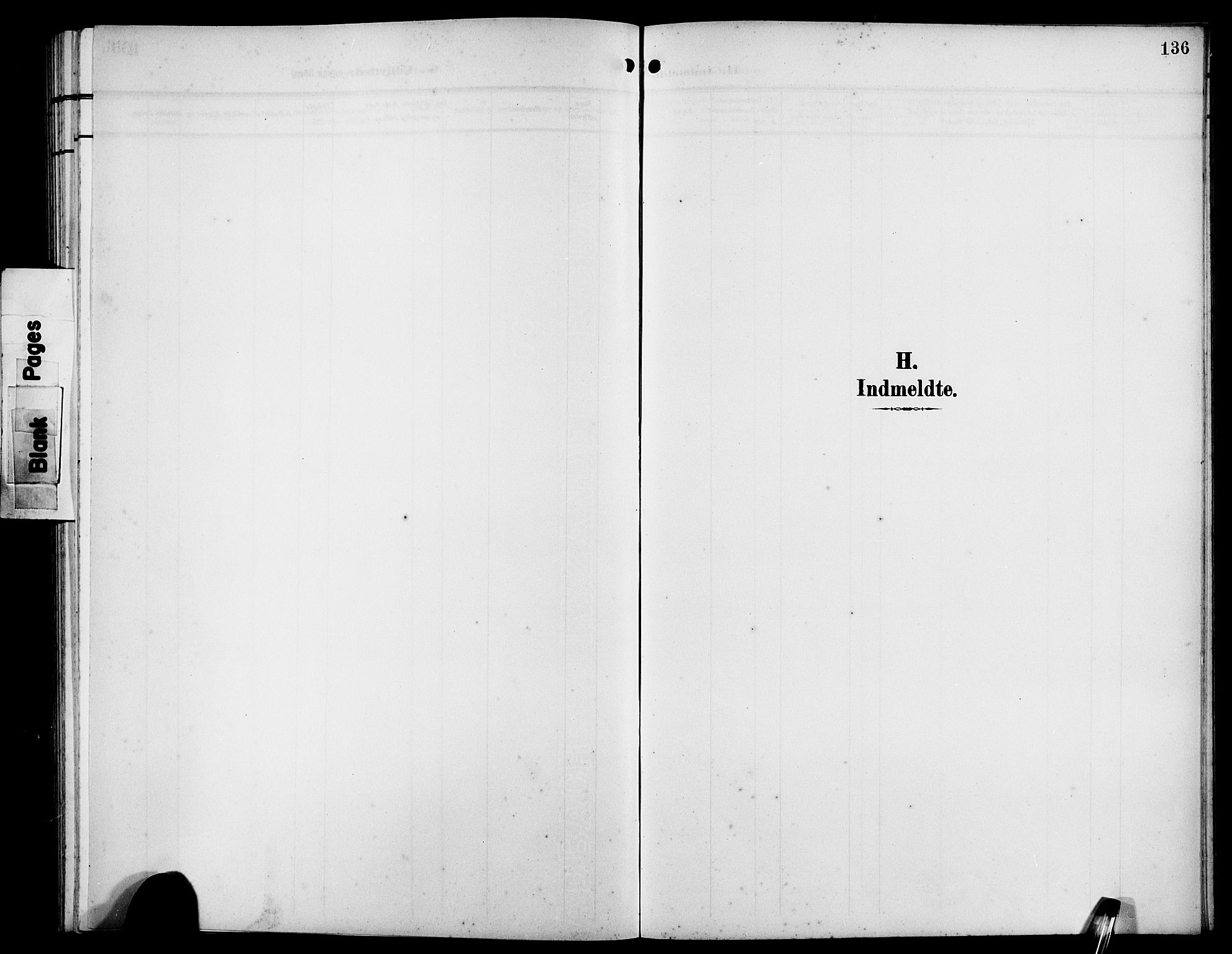 SAB, Bremanger Sokneprestembete, H/Hab: Klokkerbok nr. B 1, 1906-1925, s. 136