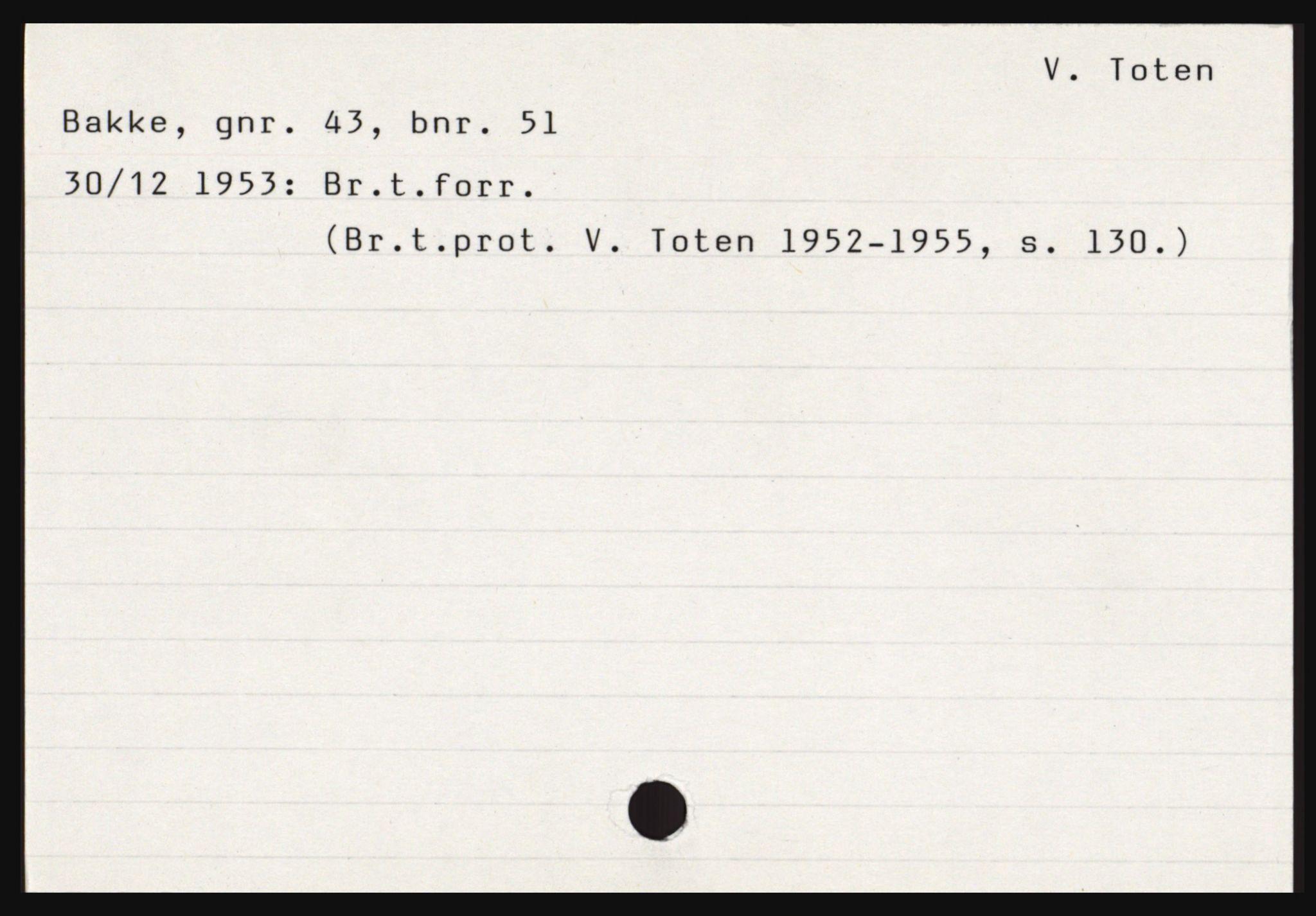 SAH, Norges Brannkasse, Vestre Toten, s. 2
