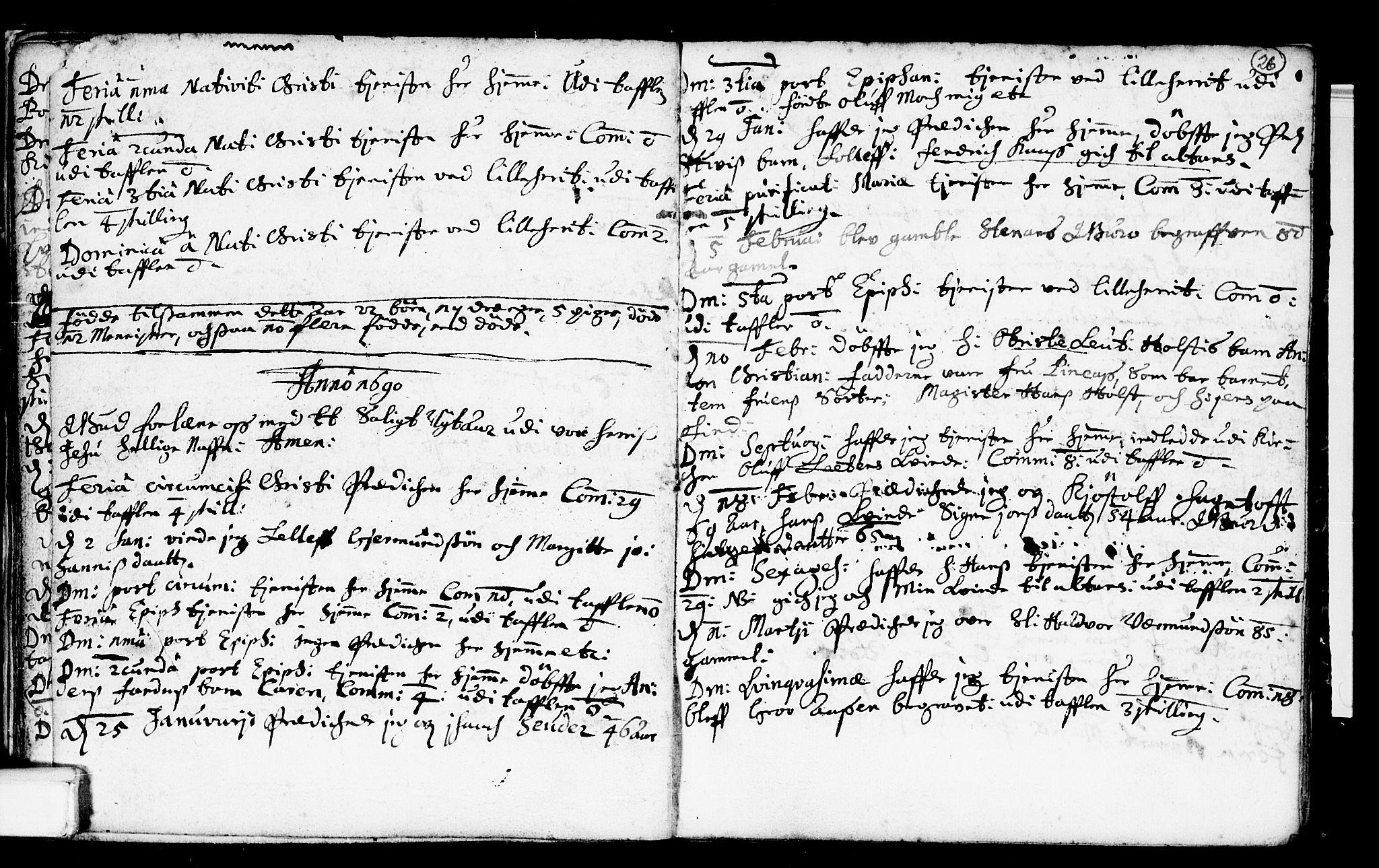 SAKO, Heddal kirkebøker, F/Fa/L0001: Ministerialbok nr. I 1, 1648-1699, s. 26