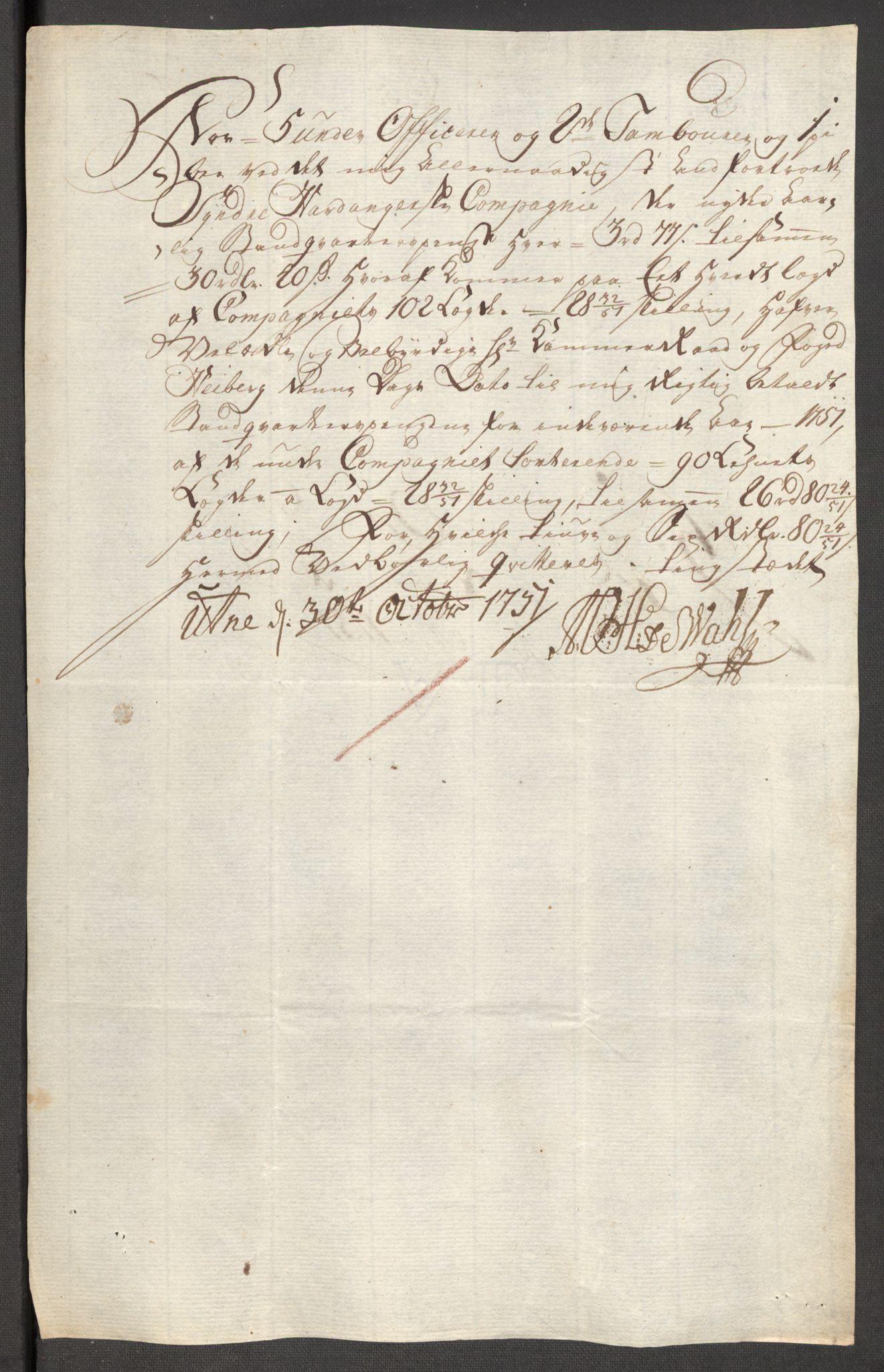RA, Rentekammeret inntil 1814, Reviderte regnskaper, Fogderegnskap, R48/L3056: Fogderegnskap Sunnhordland og Hardanger, 1751, s. 411