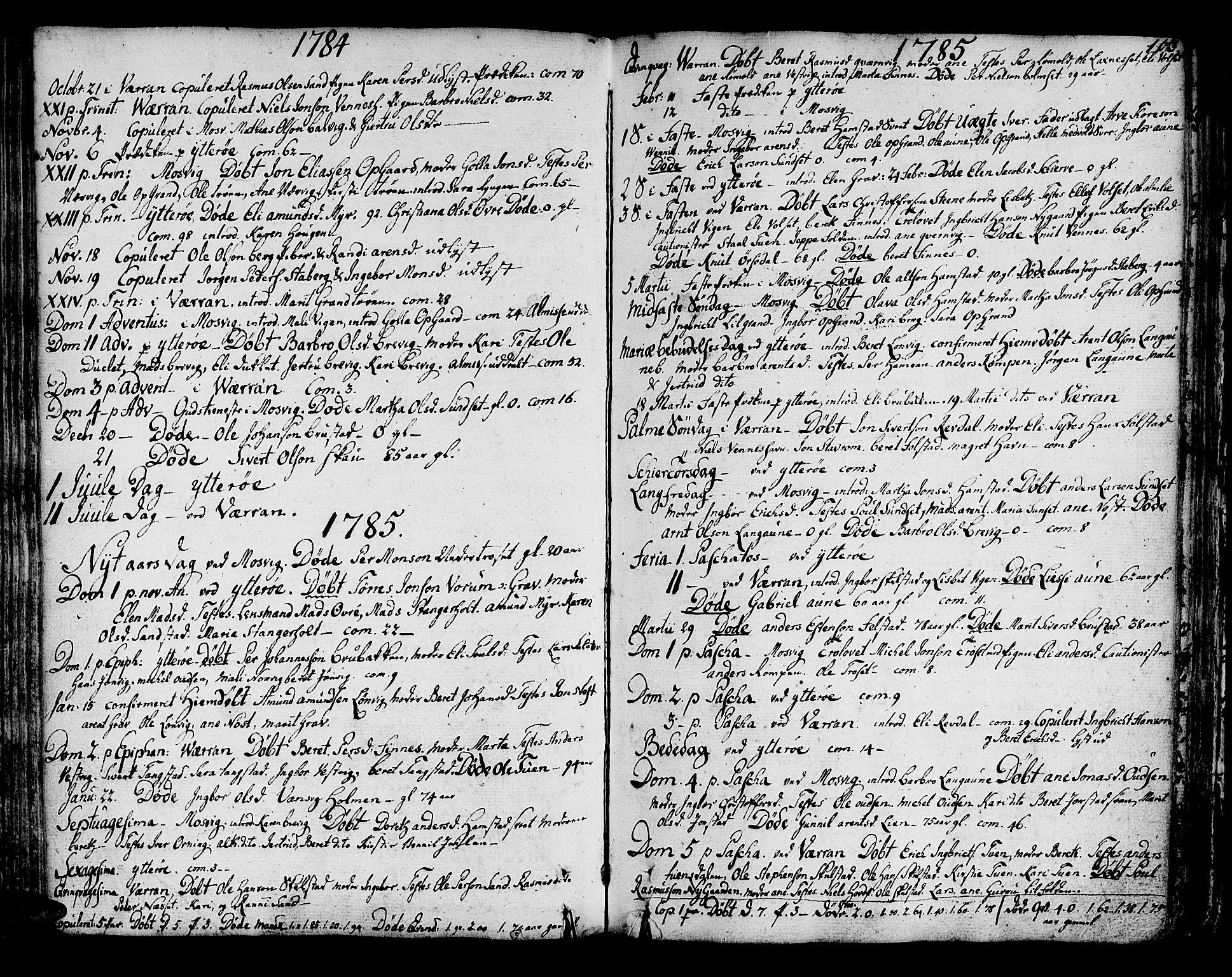 SAT, Ministerialprotokoller, klokkerbøker og fødselsregistre - Nord-Trøndelag, 722/L0216: Ministerialbok nr. 722A03, 1756-1816, s. 103