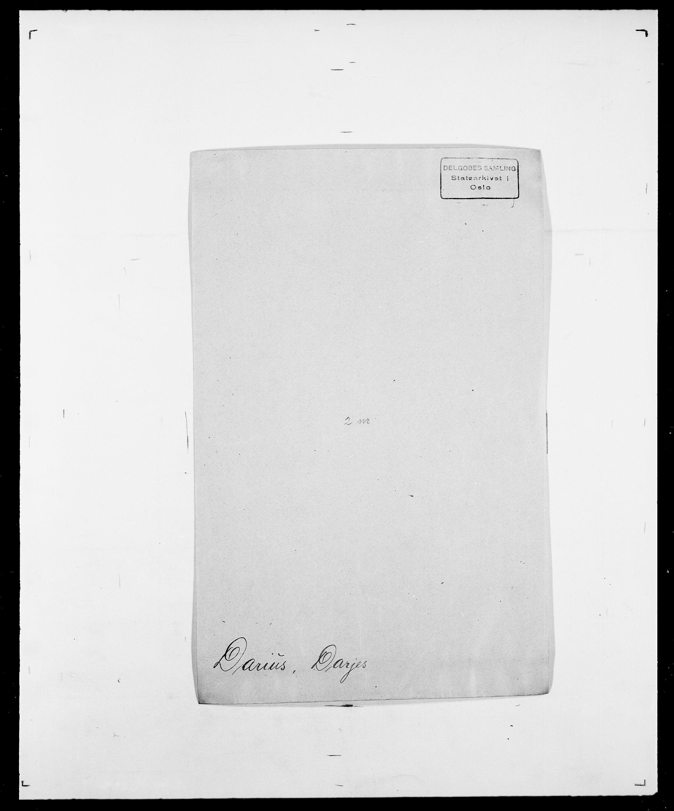 SAO, Delgobe, Charles Antoine - samling, D/Da/L0009: Dahl - v. Düren, s. 334