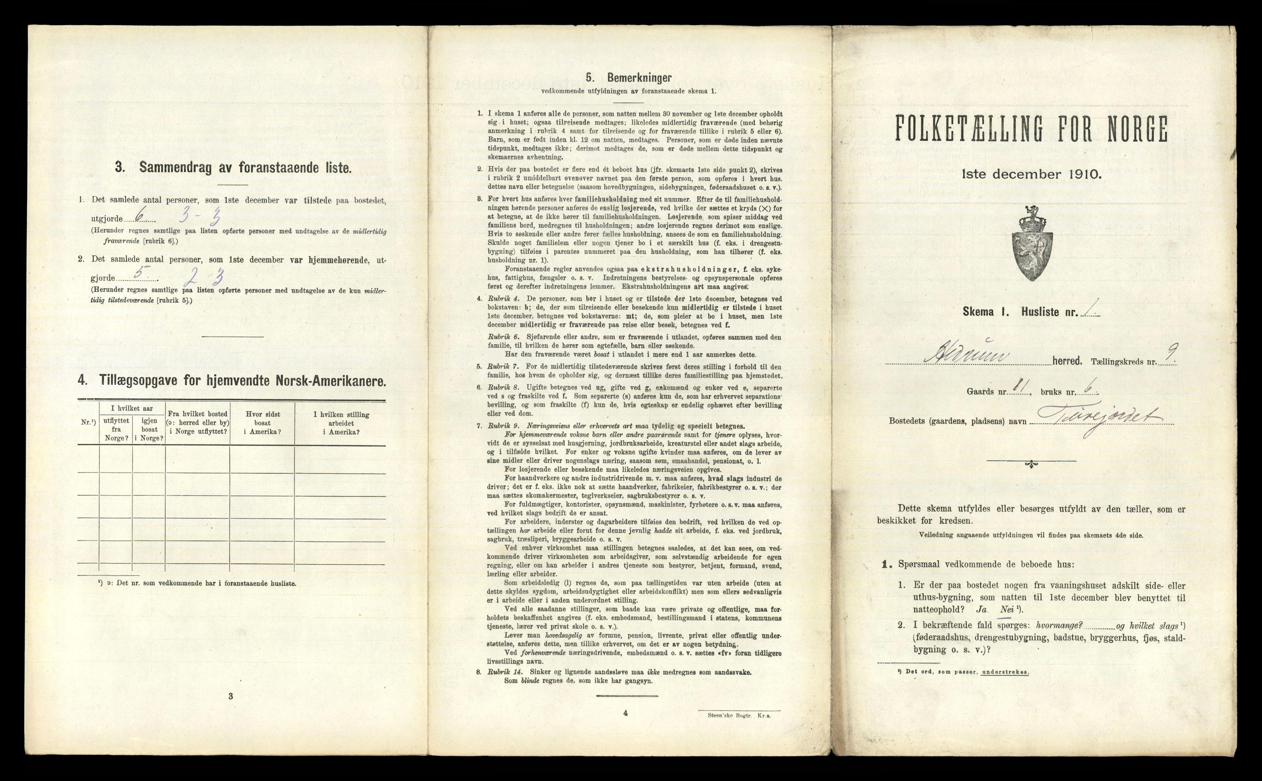 RA, Folketelling 1910 for 0727 Hedrum herred, 1910, s. 950
