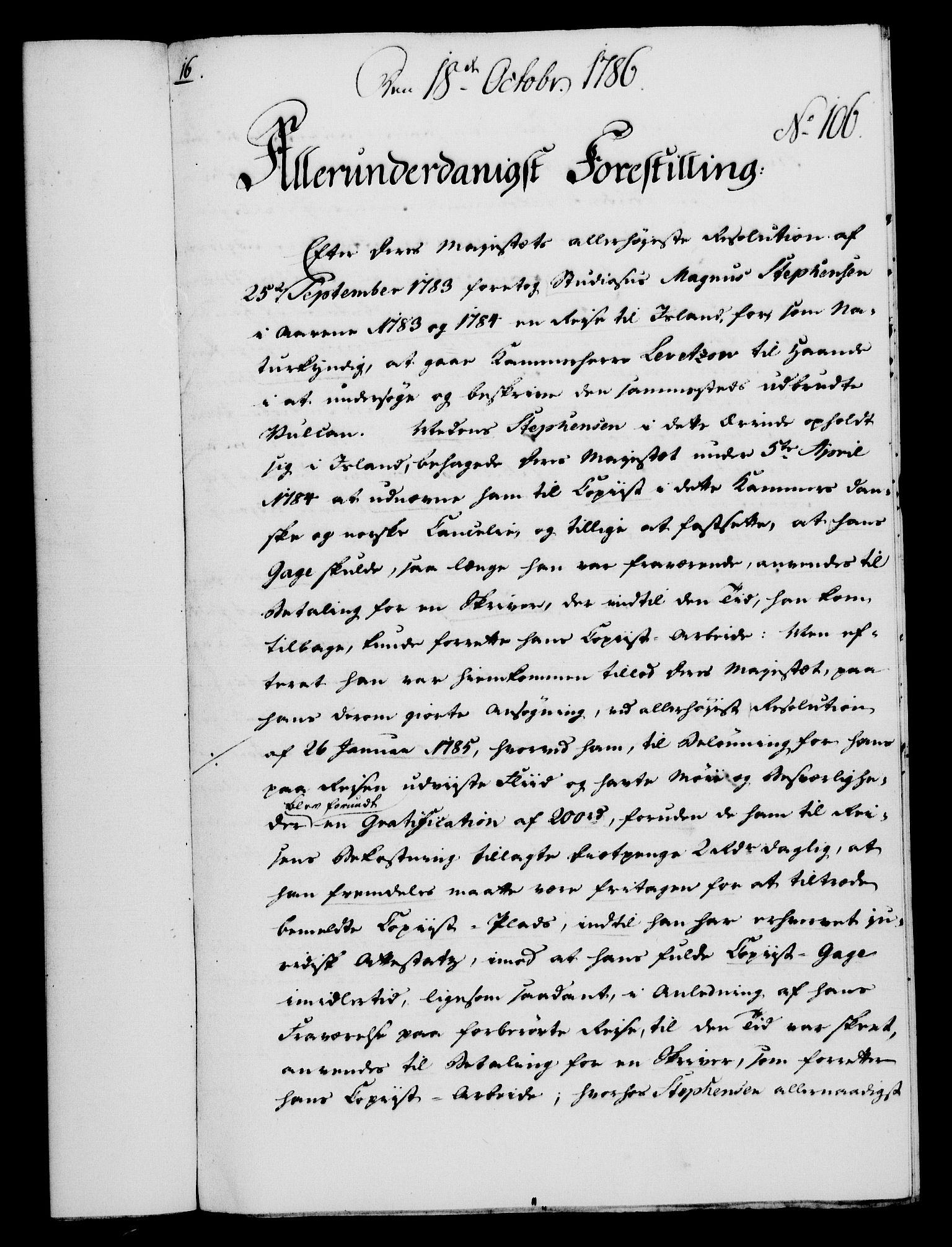 RA, Rentekammeret, Kammerkanselliet, G/Gf/Gfa/L0068: Norsk relasjons- og resolusjonsprotokoll (merket RK 52.68), 1786, s. 911
