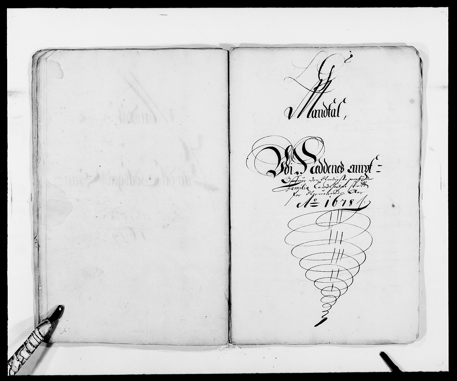 RA, Rentekammeret inntil 1814, Reviderte regnskaper, Fogderegnskap, R39/L2302: Fogderegnskap Nedenes, 1677-1678, s. 309
