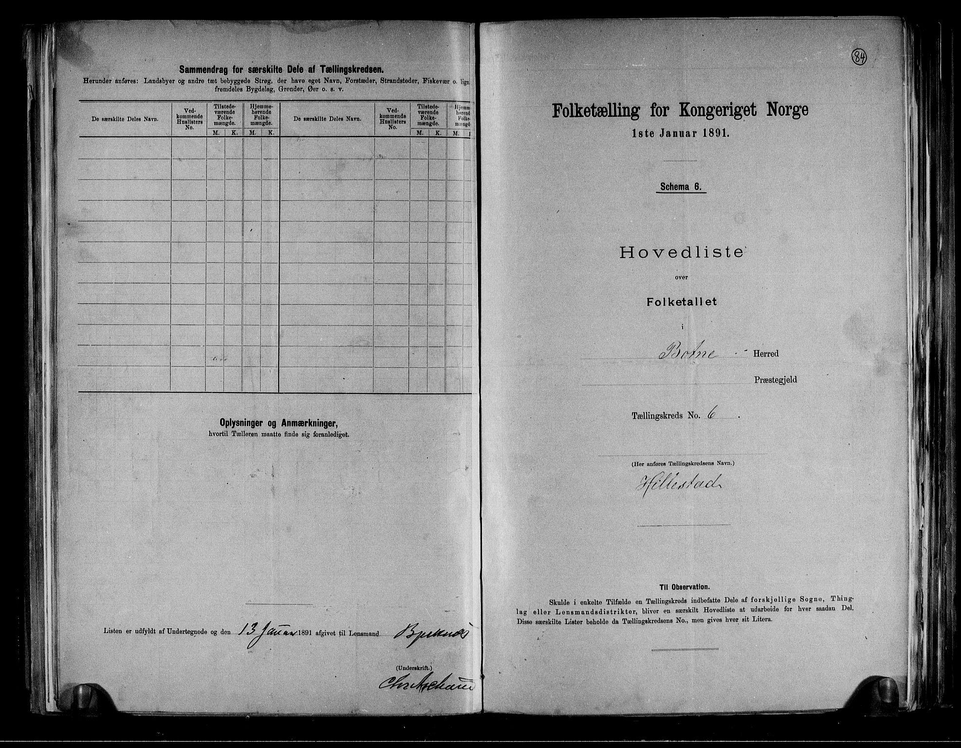 RA, Folketelling 1891 for 0715 Botne herred, 1891, s. 15