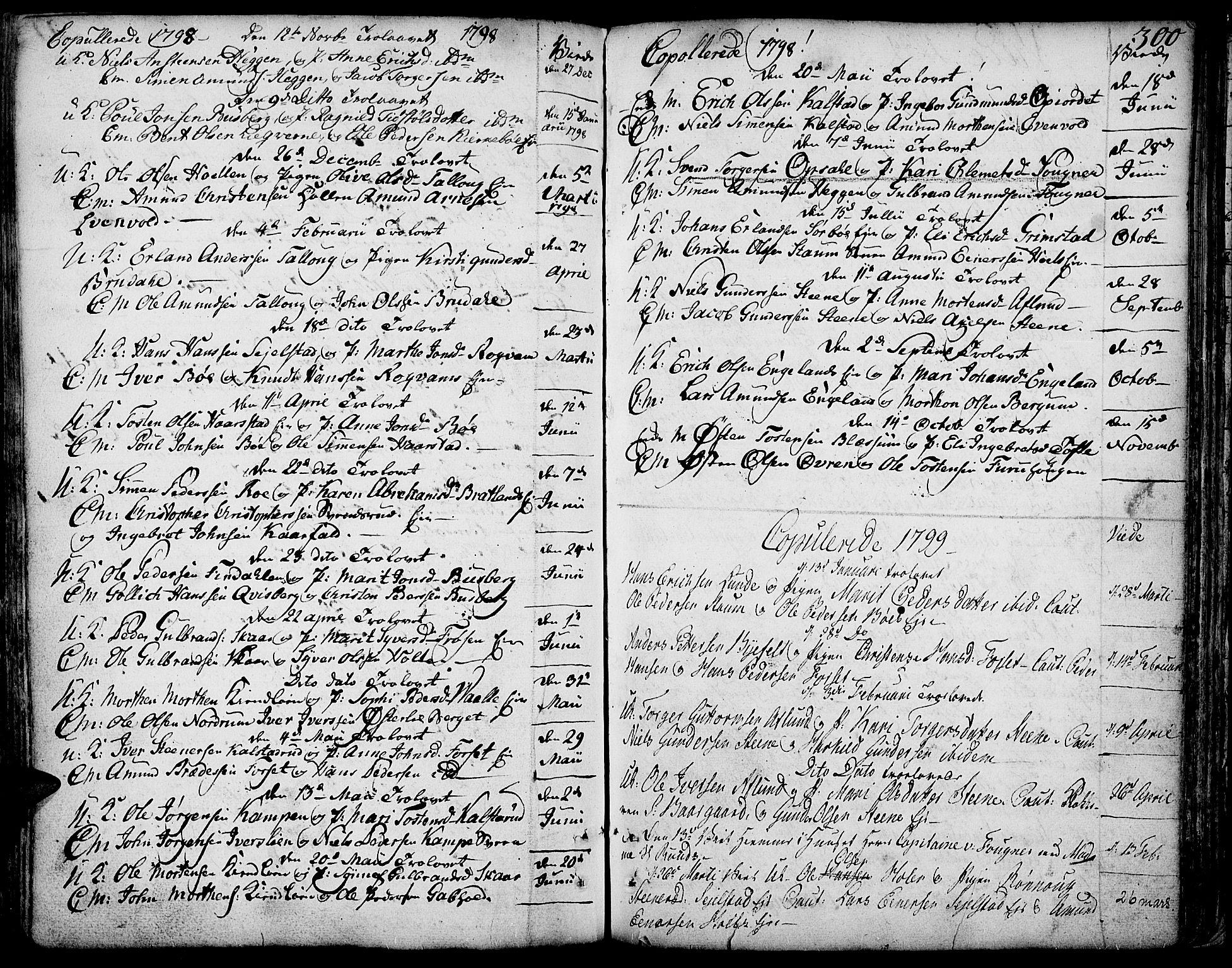 SAH, Gausdal prestekontor, Ministerialbok nr. 3, 1758-1809, s. 300