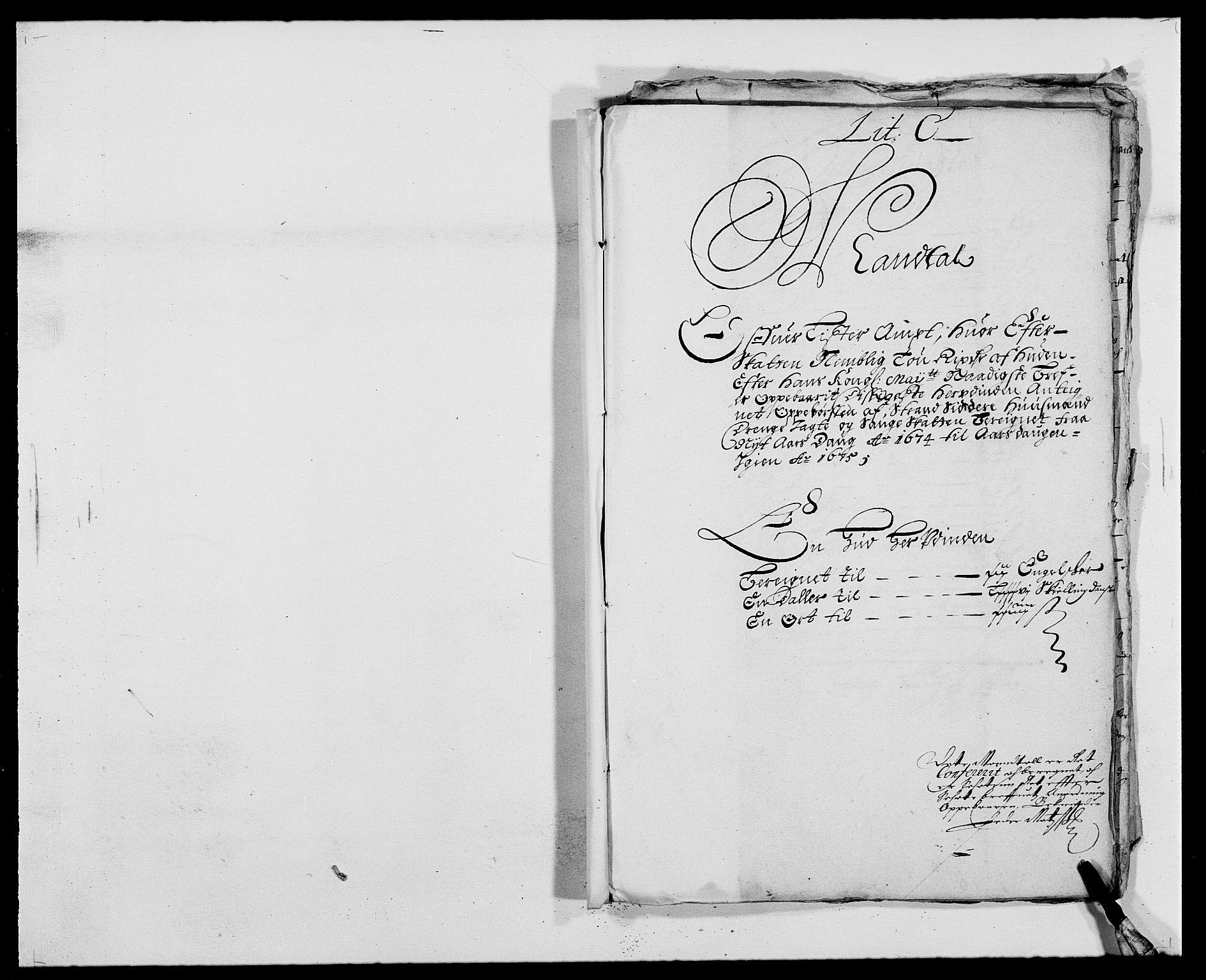 RA, Rentekammeret inntil 1814, Reviderte regnskaper, Fogderegnskap, R41/L2528: Fogderegnskap Lista, 1673-1674, s. 228