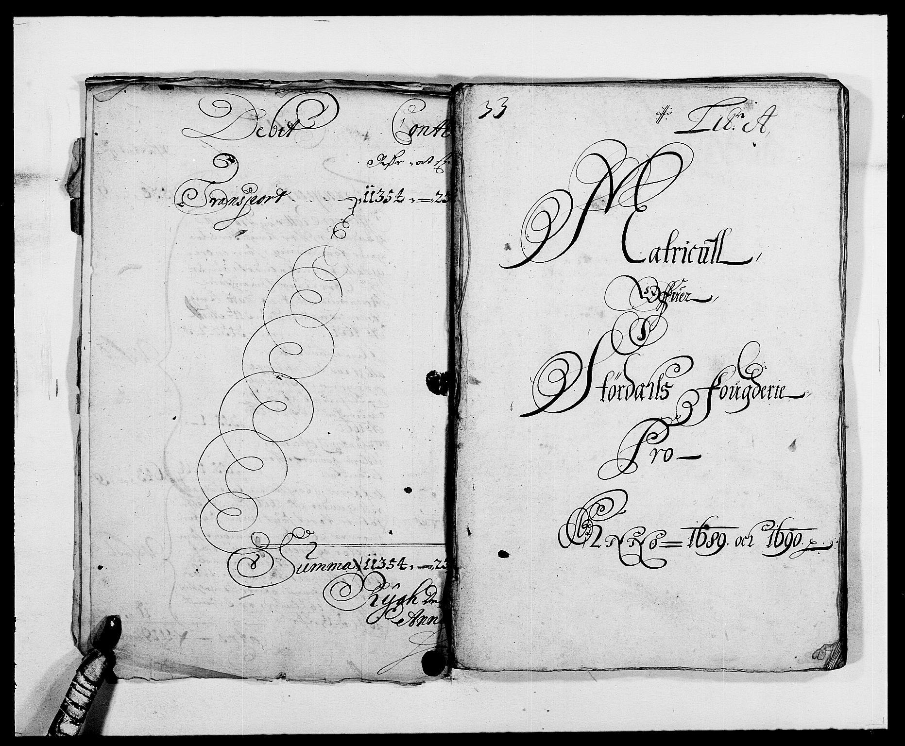 RA, Rentekammeret inntil 1814, Reviderte regnskaper, Fogderegnskap, R62/L4184: Fogderegnskap Stjørdal og Verdal, 1690-1691, s. 11