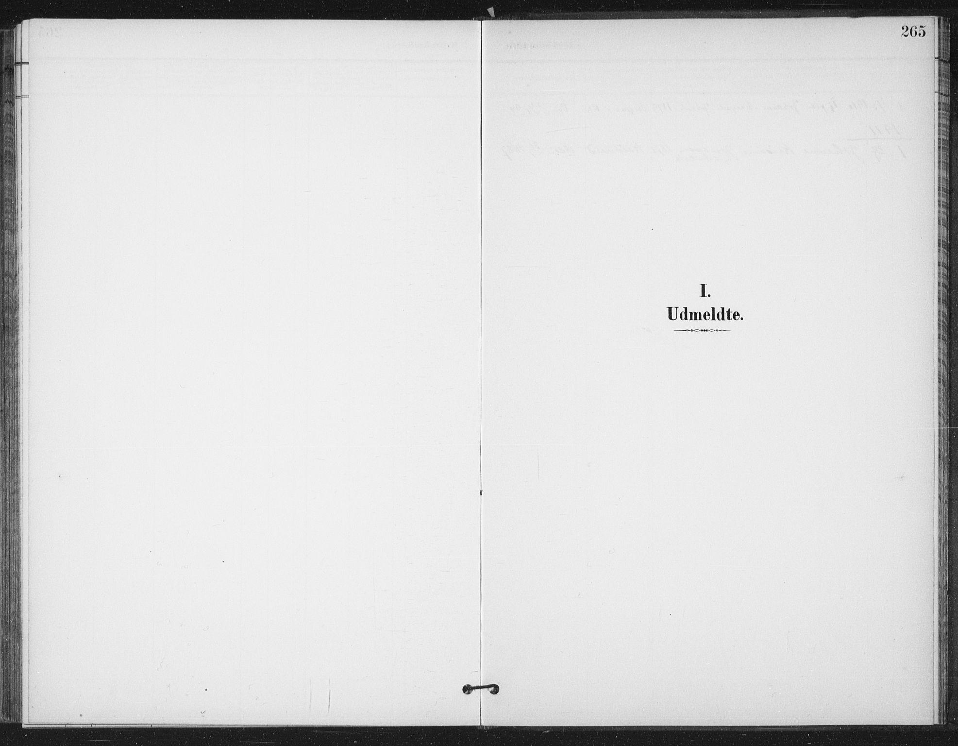 SAT, Ministerialprotokoller, klokkerbøker og fødselsregistre - Sør-Trøndelag, 658/L0723: Ministerialbok nr. 658A02, 1897-1912, s. 265