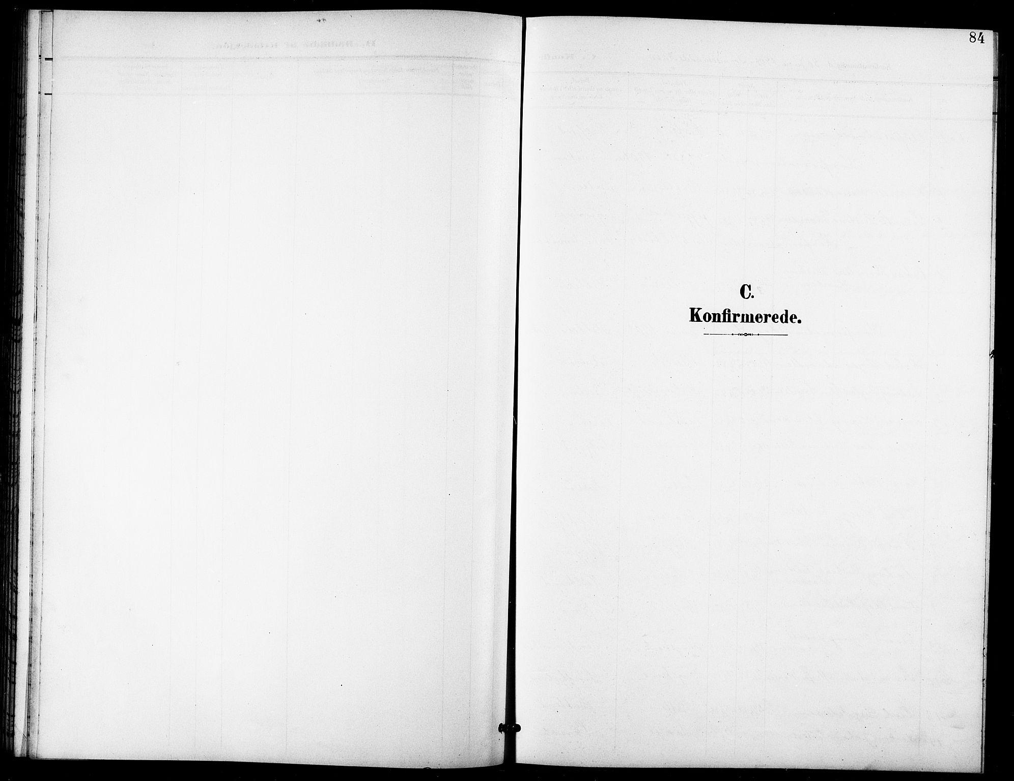 SATØ, Lenvik sokneprestembete, H/Ha: Klokkerbok nr. 22, 1901-1918, s. 84