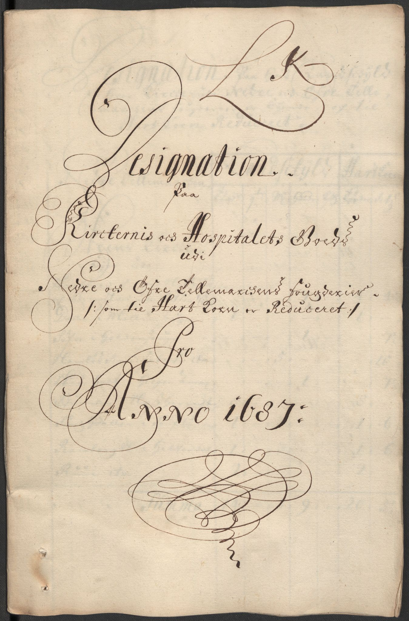 RA, Rentekammeret inntil 1814, Reviderte regnskaper, Fogderegnskap, R35/L2086: Fogderegnskap Øvre og Nedre Telemark, 1687-1689, s. 165