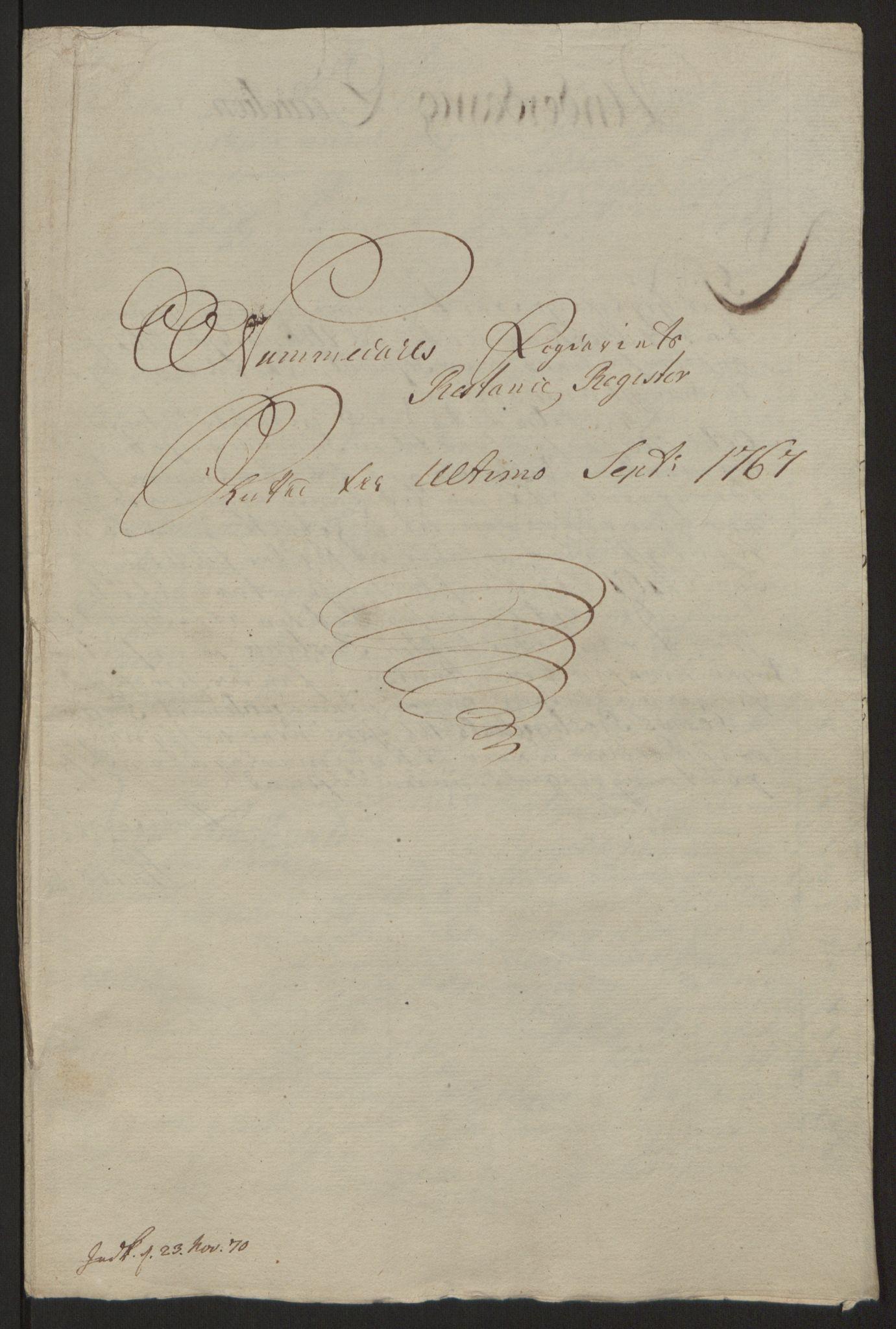 RA, Rentekammeret inntil 1814, Reviderte regnskaper, Fogderegnskap, R64/L4502: Ekstraskatten Namdal, 1762-1772, s. 450