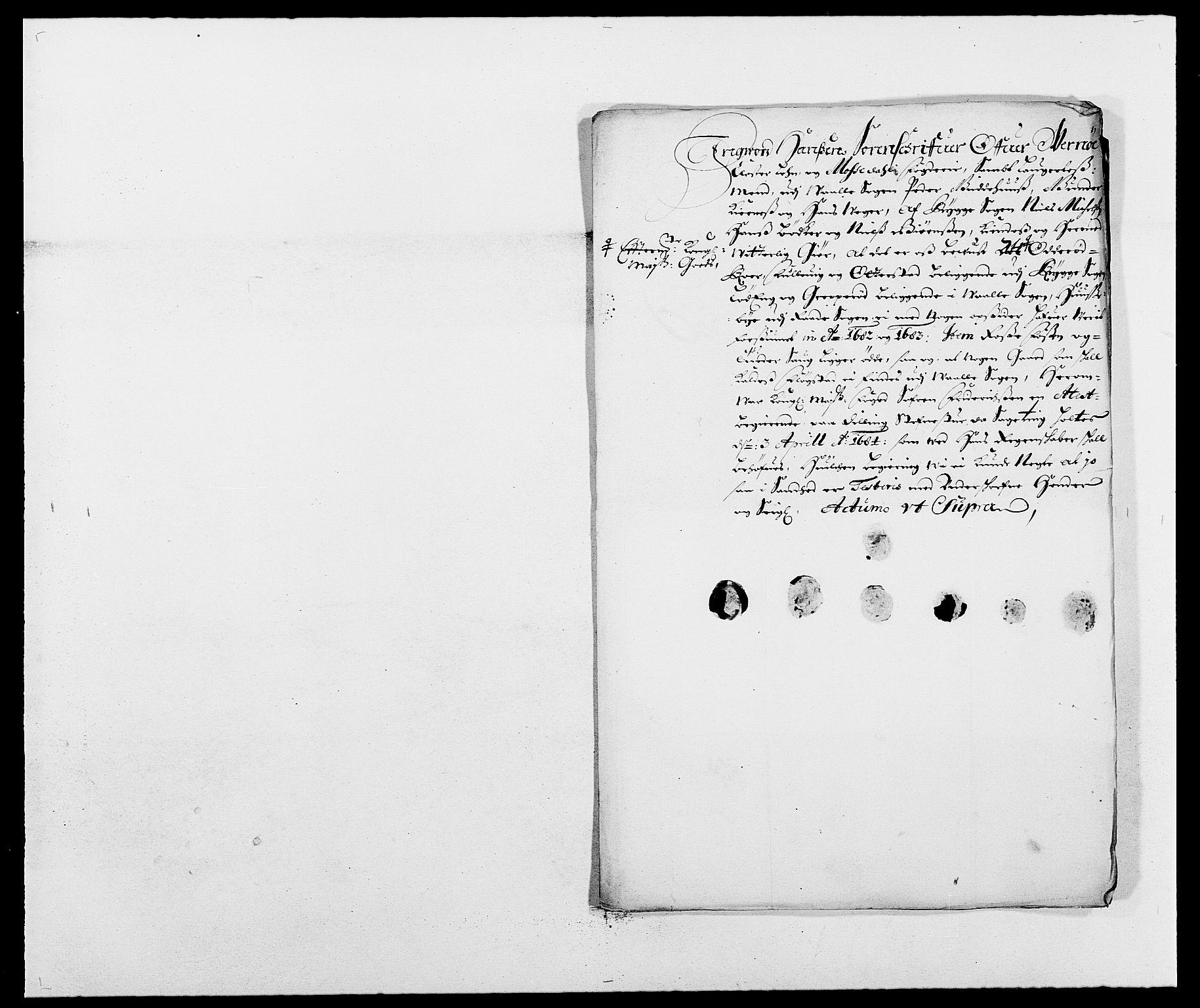 RA, Rentekammeret inntil 1814, Reviderte regnskaper, Fogderegnskap, R02/L0104: Fogderegnskap Moss og Verne kloster, 1682-1684, s. 153