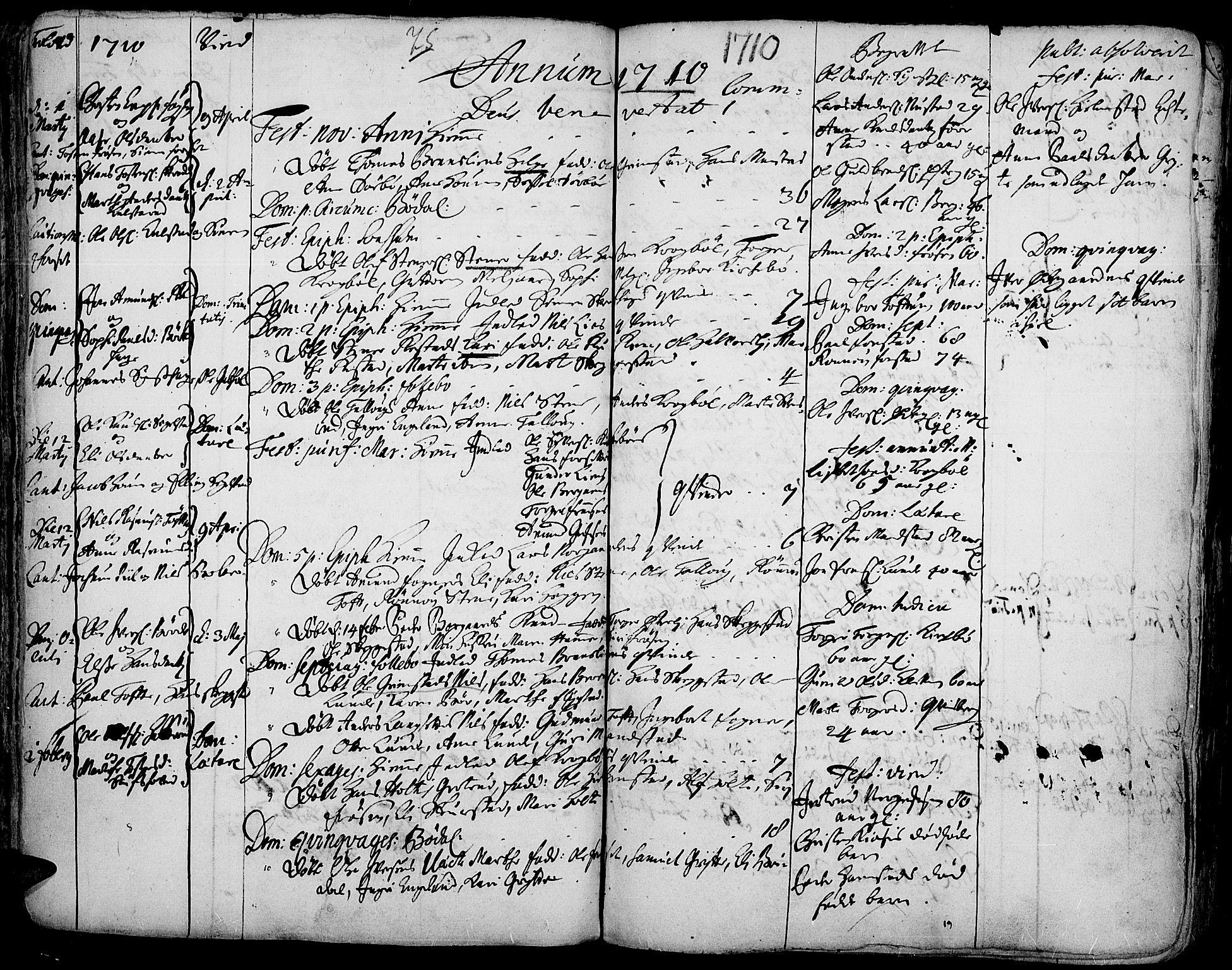 SAH, Gausdal prestekontor, Ministerialbok nr. 1, 1693-1728, s. 75