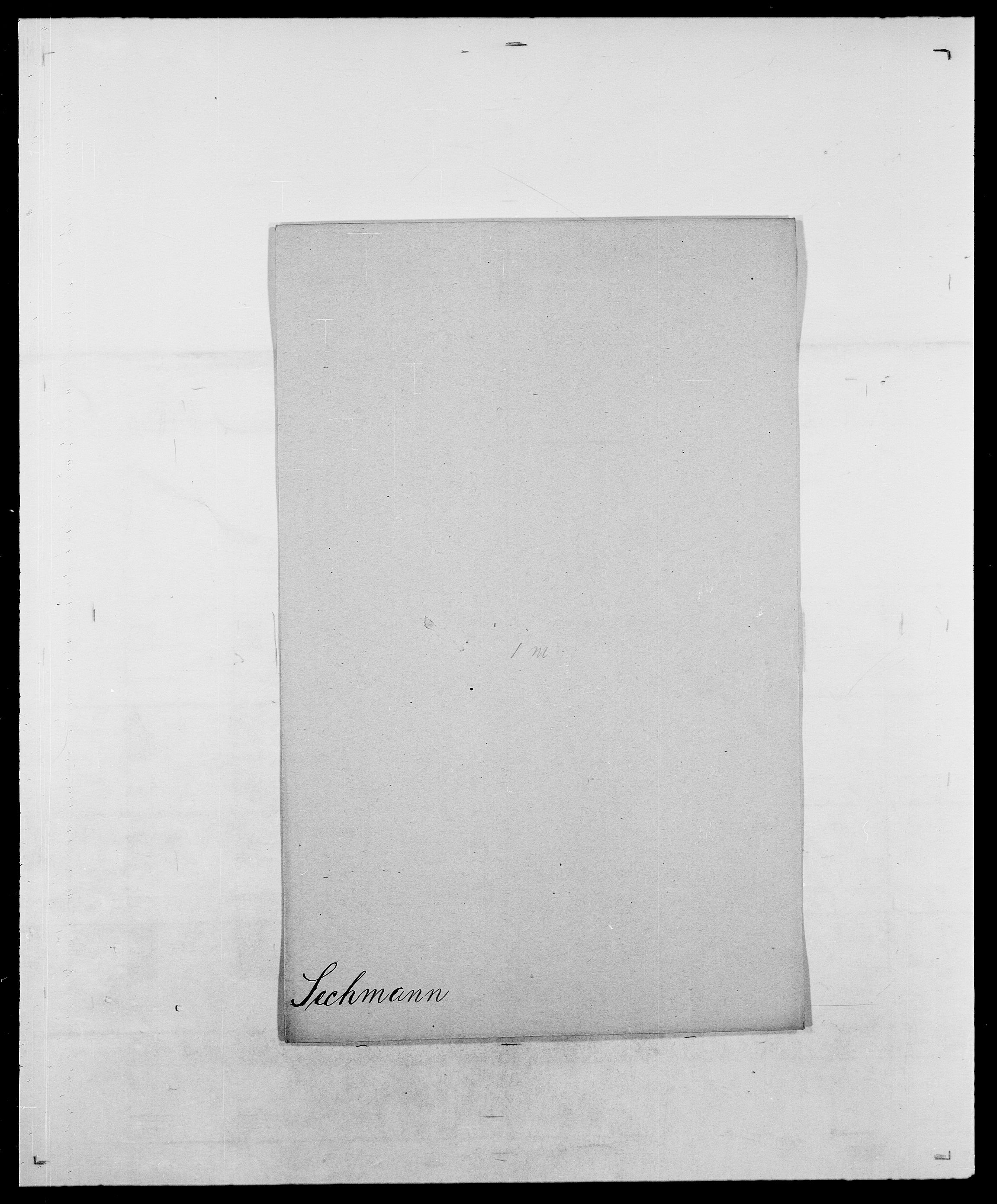 SAO, Delgobe, Charles Antoine - samling, D/Da/L0035: Schnabel - sjetman, s. 525