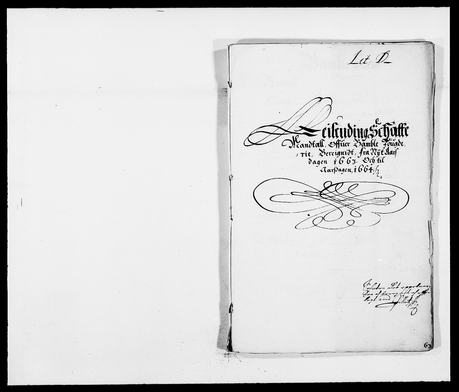 RA, Rentekammeret inntil 1814, Reviderte regnskaper, Fogderegnskap, R34/L2037: Fogderegnskap Bamble, 1662-1669, s. 182