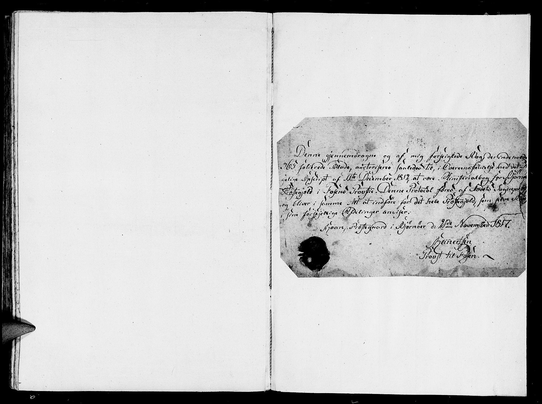 SAT, Ministerialprotokoller, klokkerbøker og fødselsregistre - Sør-Trøndelag, 657/L0702: Ministerialbok nr. 657A03, 1818-1831