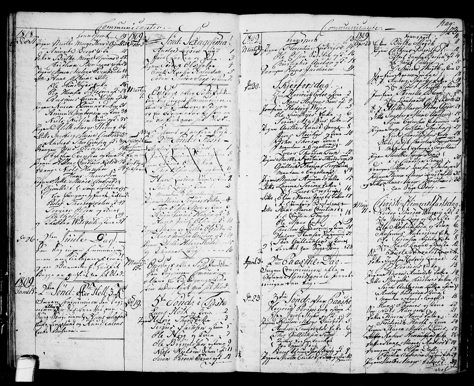 SAKO, Langesund kirkebøker, G/Ga/L0002: Klokkerbok nr. 2, 1801-1815, s. 23