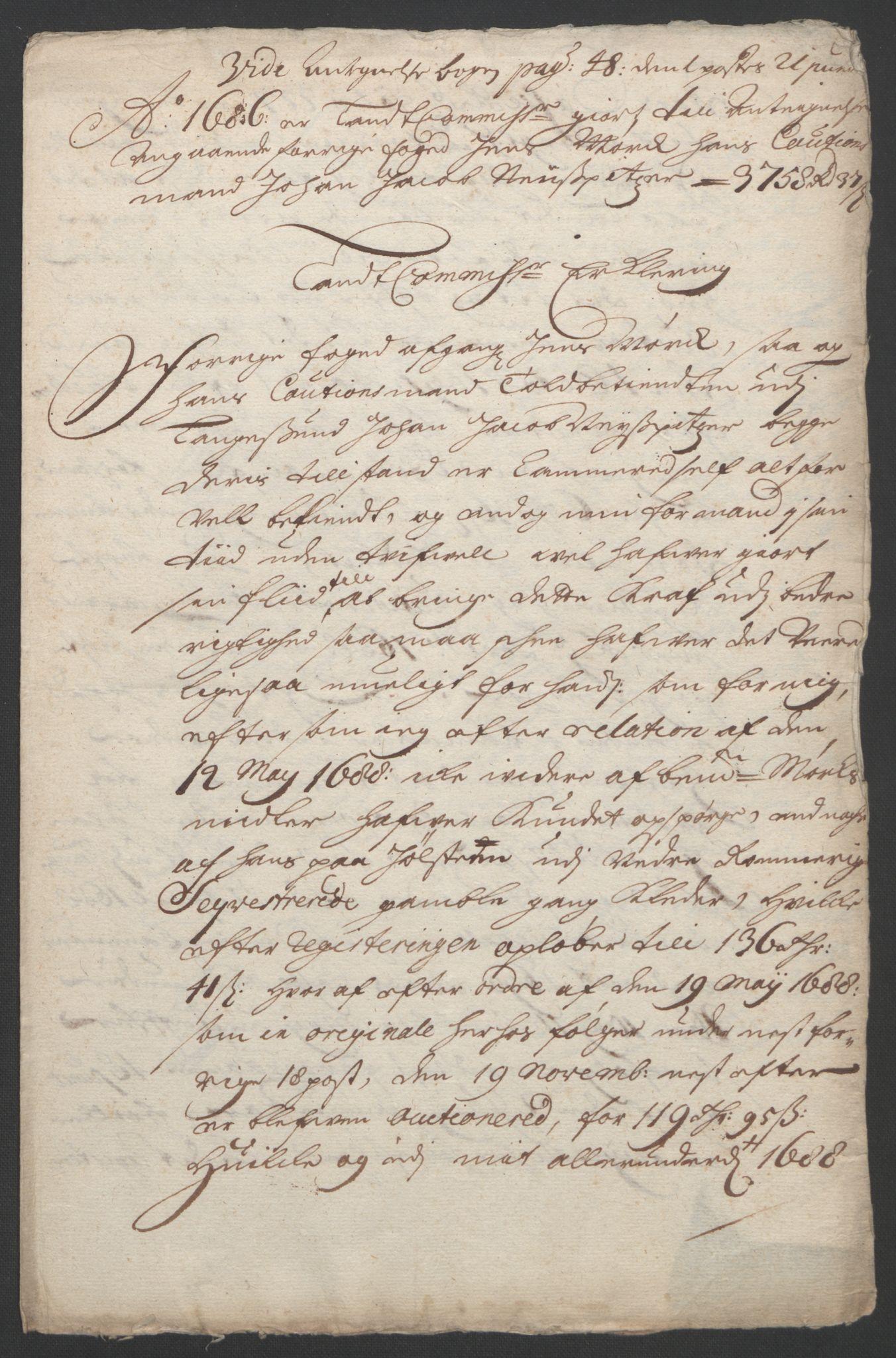 RA, Rentekammeret inntil 1814, Reviderte regnskaper, Fogderegnskap, R11/L0576: Fogderegnskap Nedre Romerike, 1682-1691, s. 251