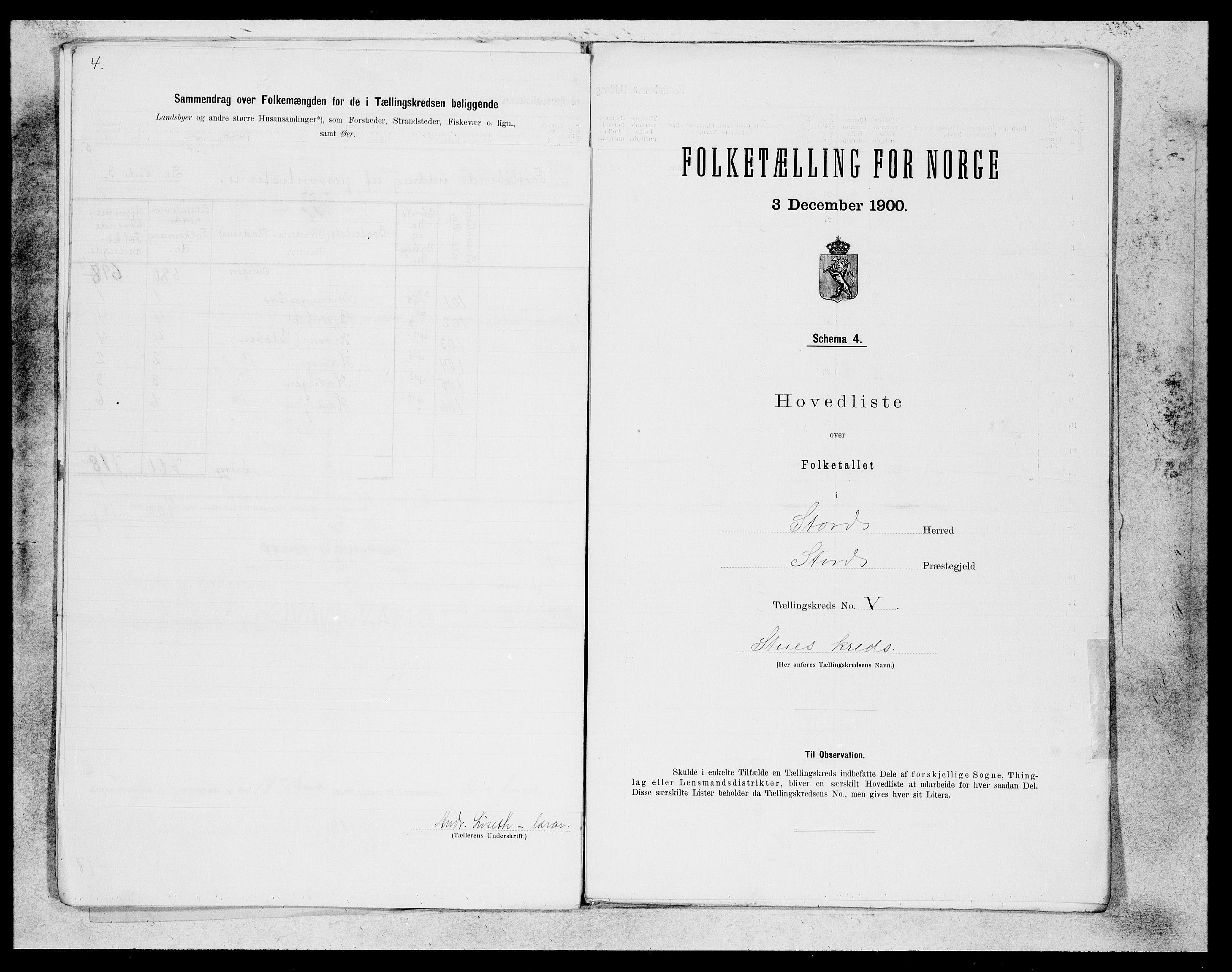 SAB, Folketelling 1900 for 1221 Stord herred, 1900, s. 12