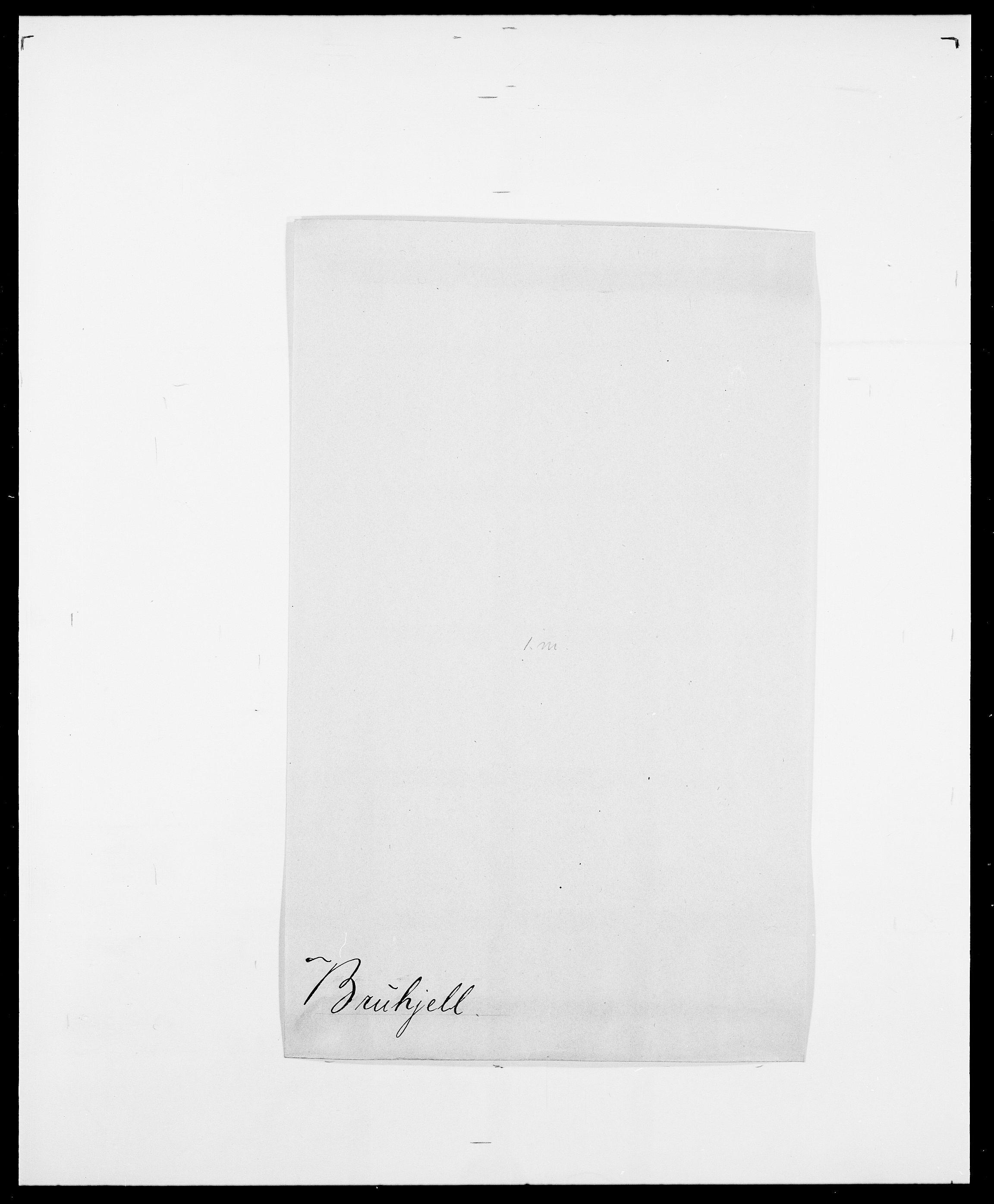 SAO, Delgobe, Charles Antoine - samling, D/Da/L0006: Brambani - Brønø, s. 638
