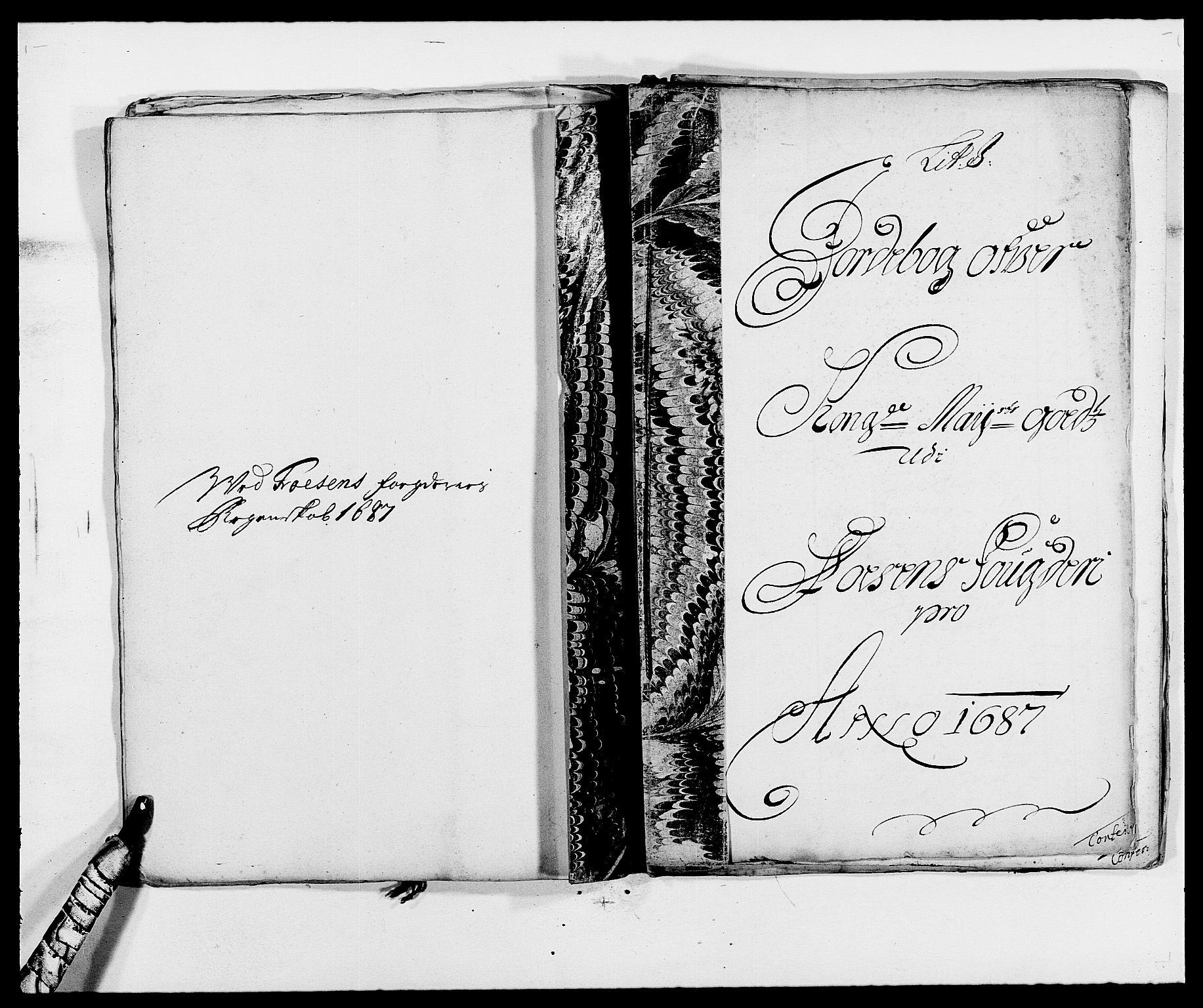 RA, Rentekammeret inntil 1814, Reviderte regnskaper, Fogderegnskap, R57/L3845: Fogderegnskap Fosen, 1687, s. 97