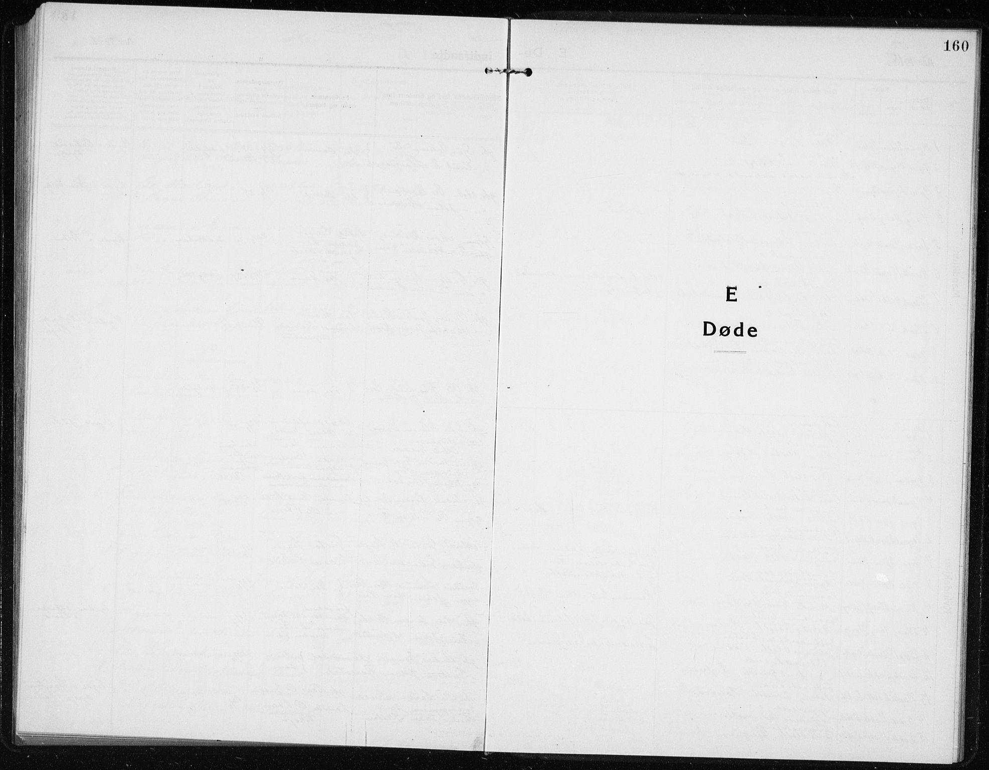 SAB, Vik Sokneprestembete, Klokkerbok nr. A 5, 1915-1935, s. 160