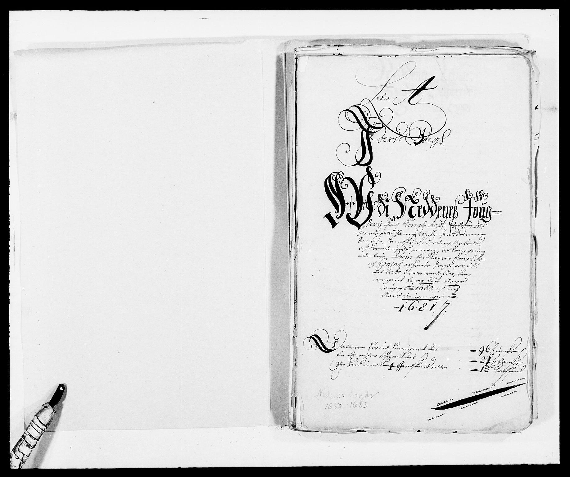 RA, Rentekammeret inntil 1814, Reviderte regnskaper, Fogderegnskap, R39/L2304: Fogderegnskap Nedenes, 1680-1682, s. 2