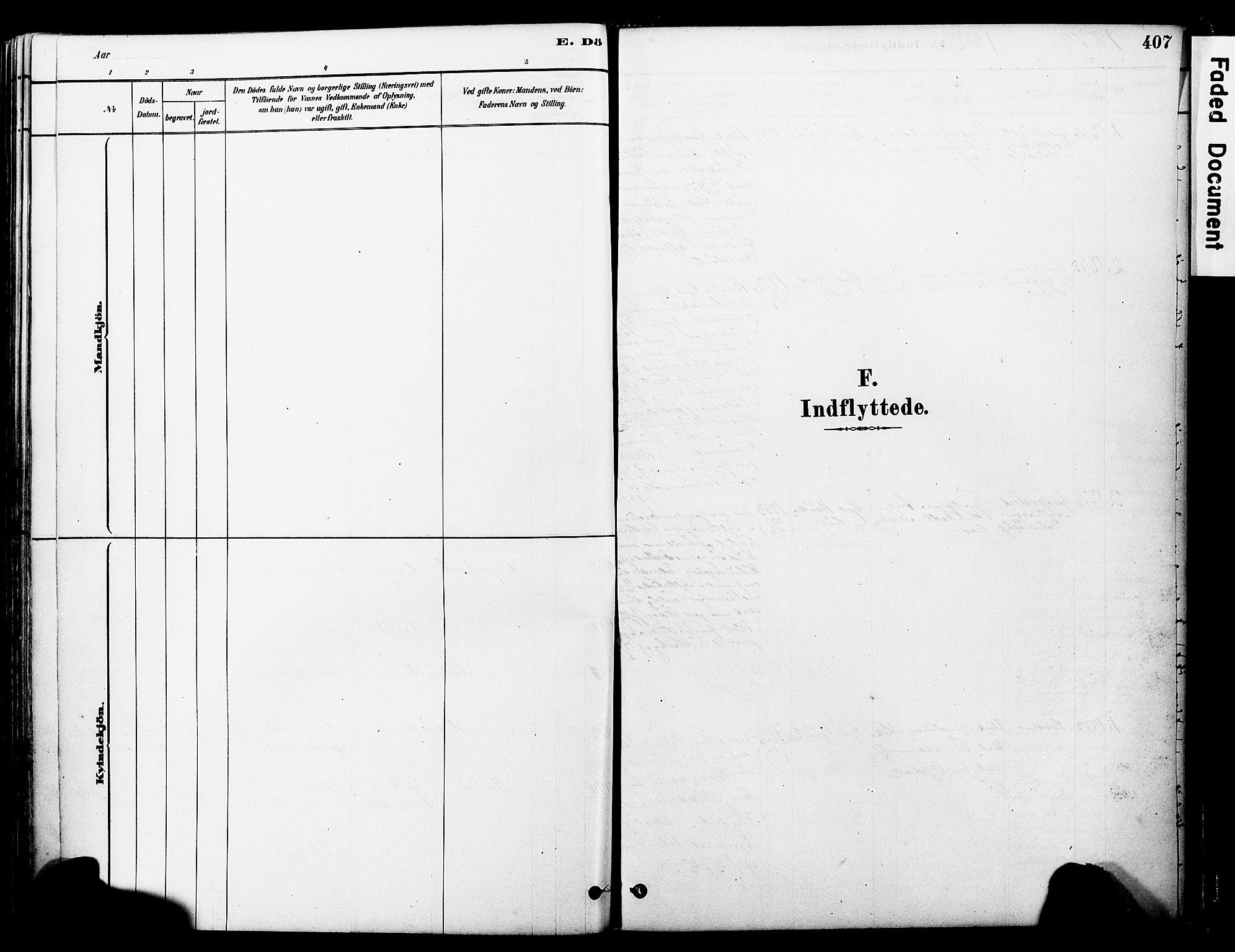 SAT, Ministerialprotokoller, klokkerbøker og fødselsregistre - Møre og Romsdal, 560/L0721: Ministerialbok nr. 560A05, 1878-1917, s. 407