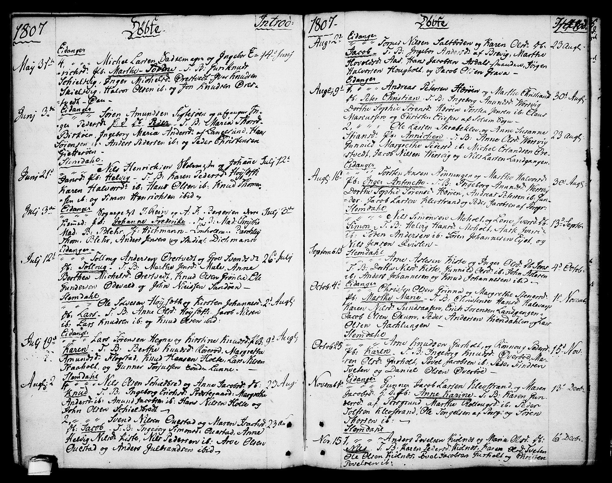 SAKO, Eidanger kirkebøker, F/Fa/L0006: Ministerialbok nr. 6, 1764-1814, s. 148