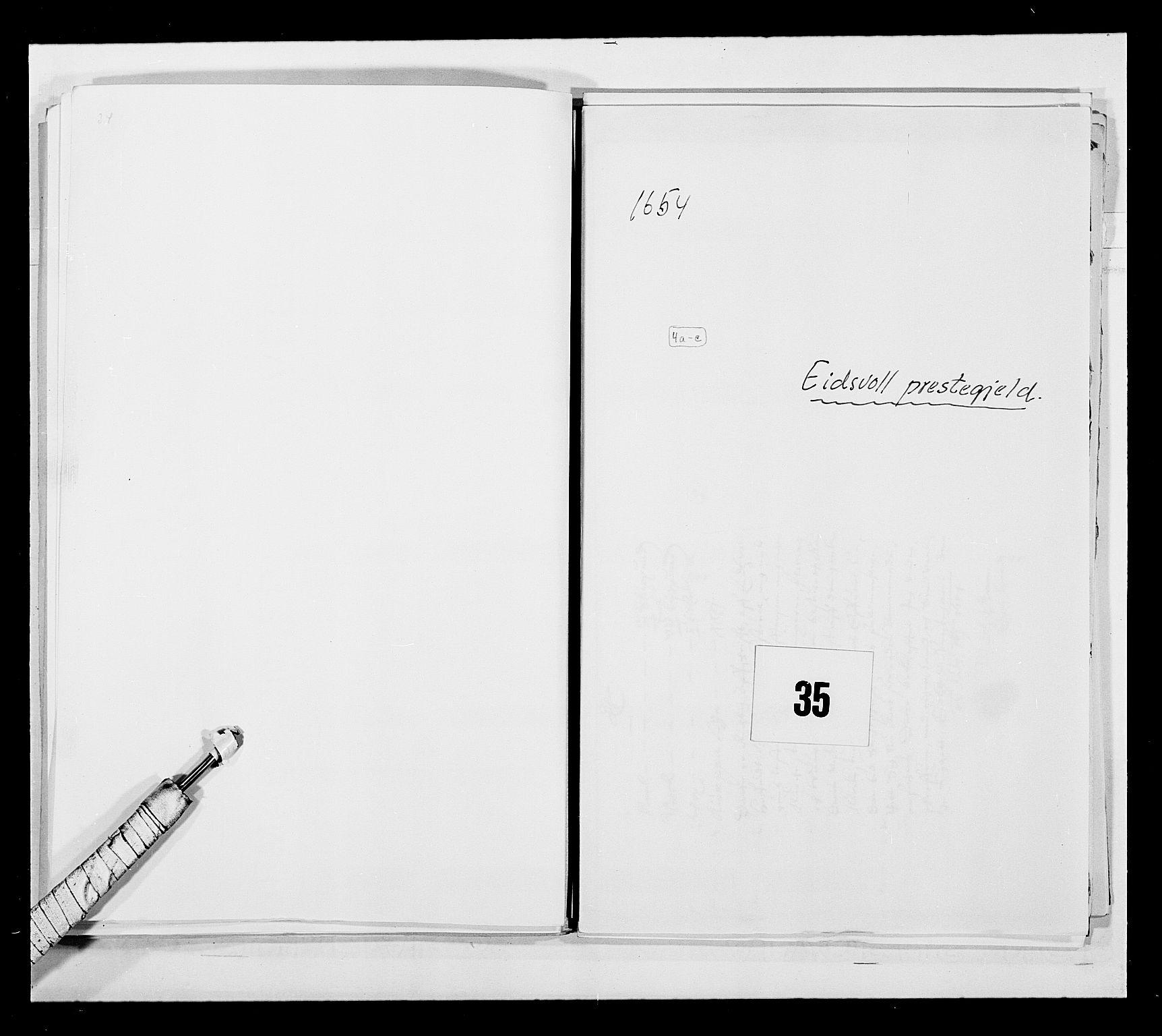 RA, Stattholderembetet 1572-1771, Ek/L0030: Jordebøker 1633-1658:, 1654, s. 160