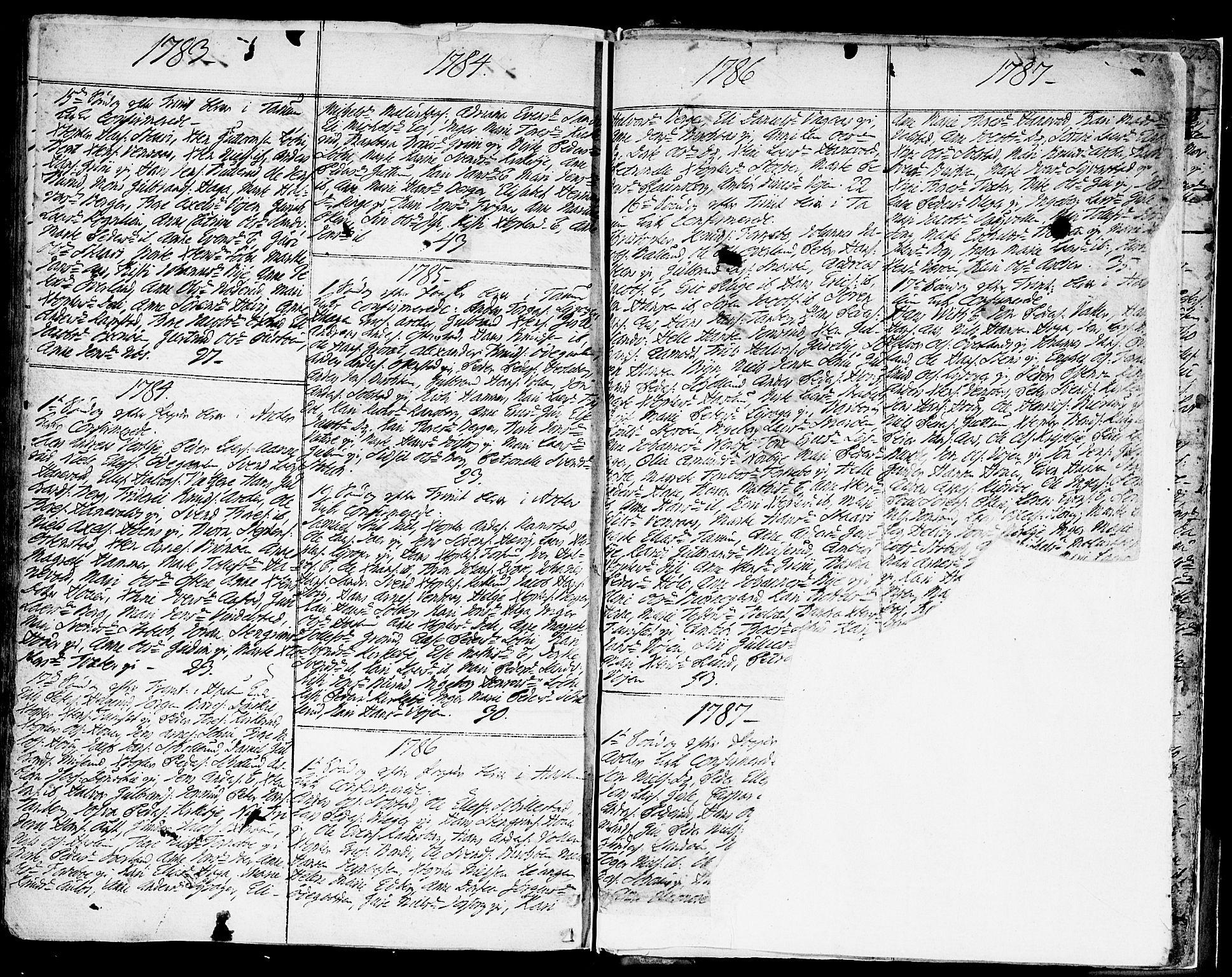 SAO, Asker prestekontor Kirkebøker, F/Fa/L0003: Ministerialbok nr. I 3, 1767-1807, s. 272